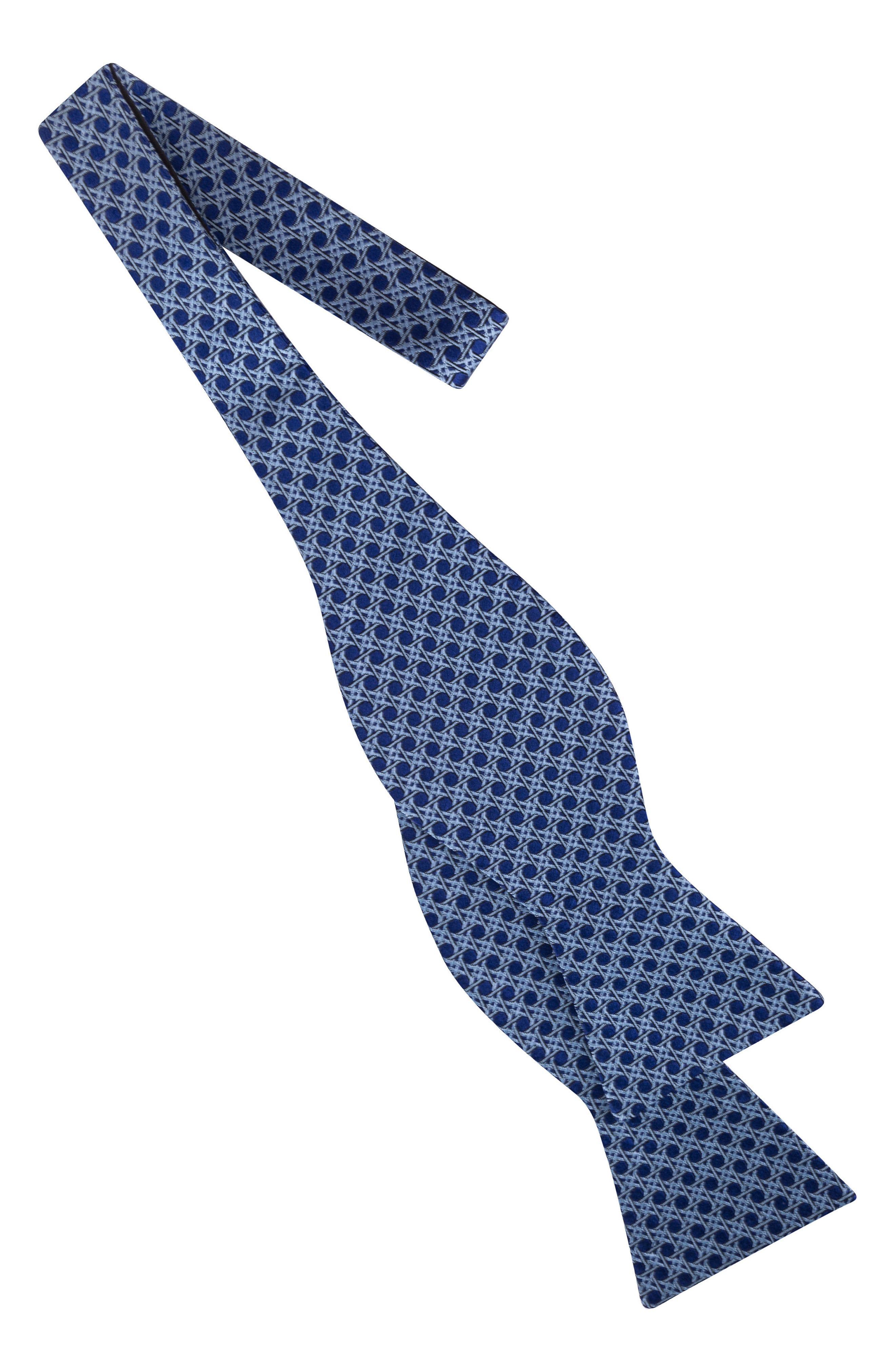 Geometric Silk Bow Tie,                             Alternate thumbnail 2, color,                             400