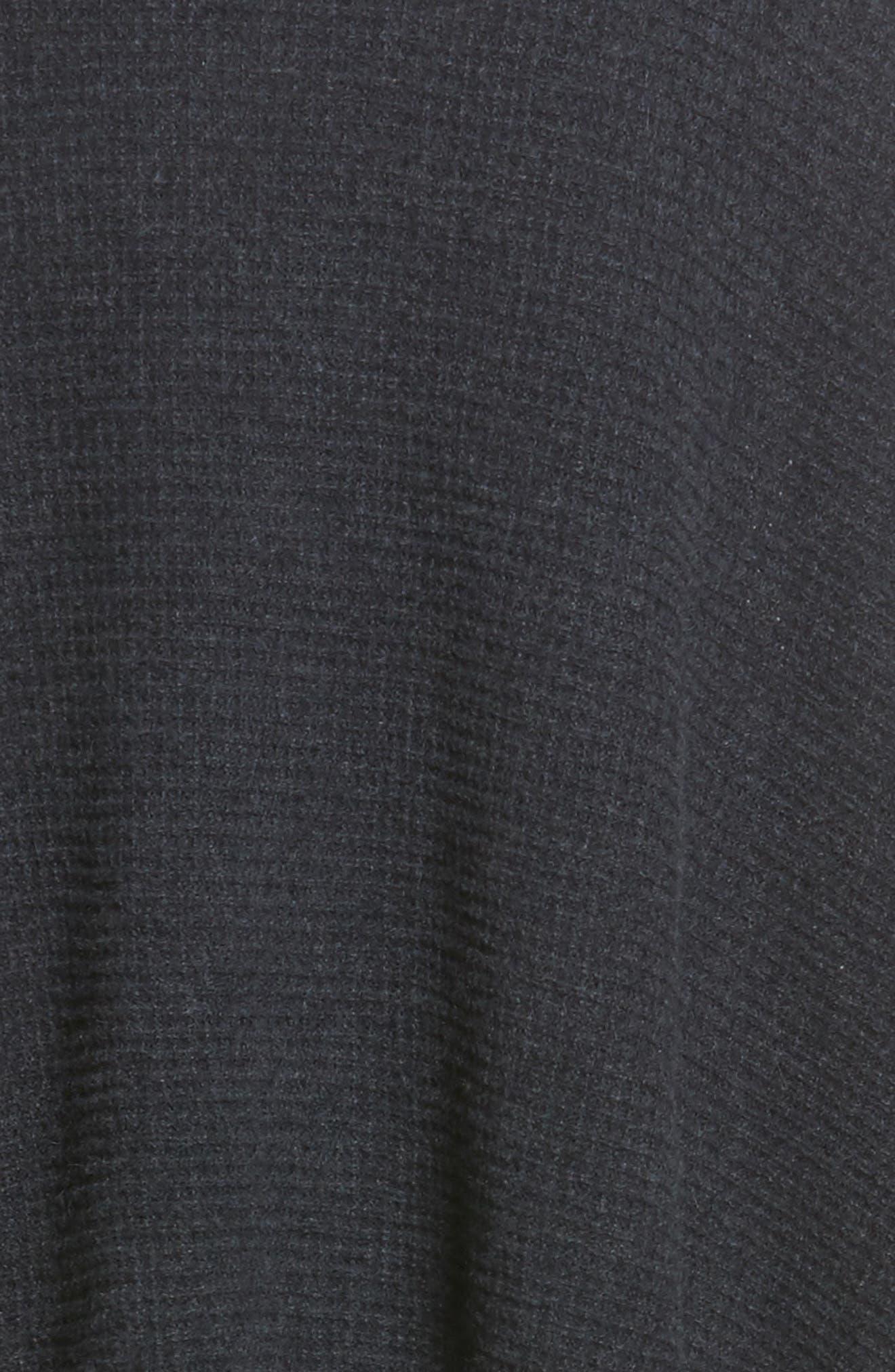 Waffle Knit Cashmere Wrap,                             Alternate thumbnail 22, color,