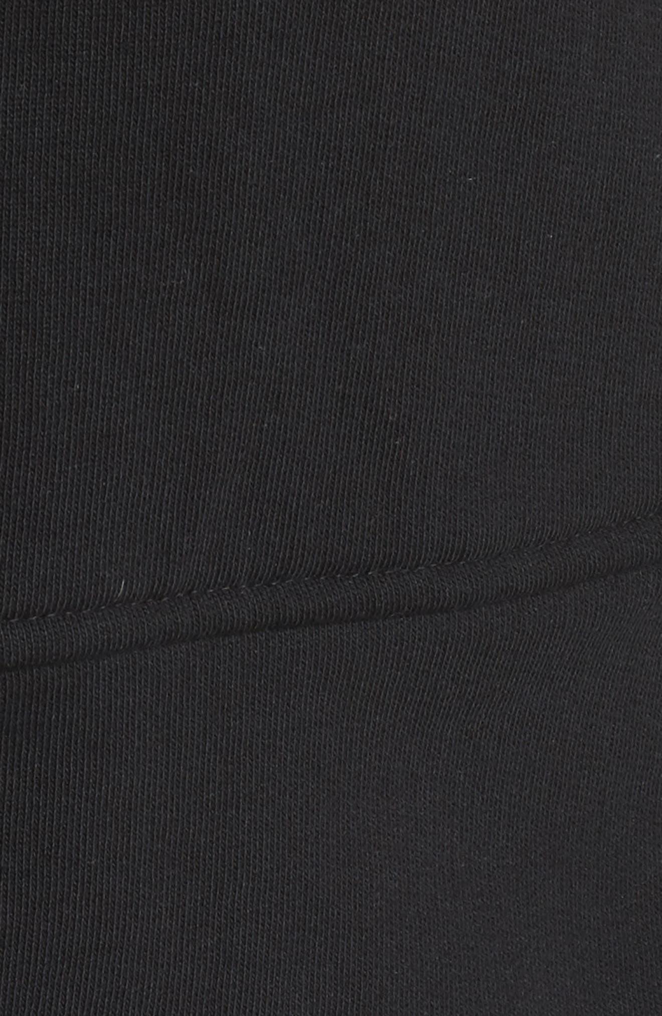 Knit Peplum Jacket,                             Alternate thumbnail 7, color,                             001