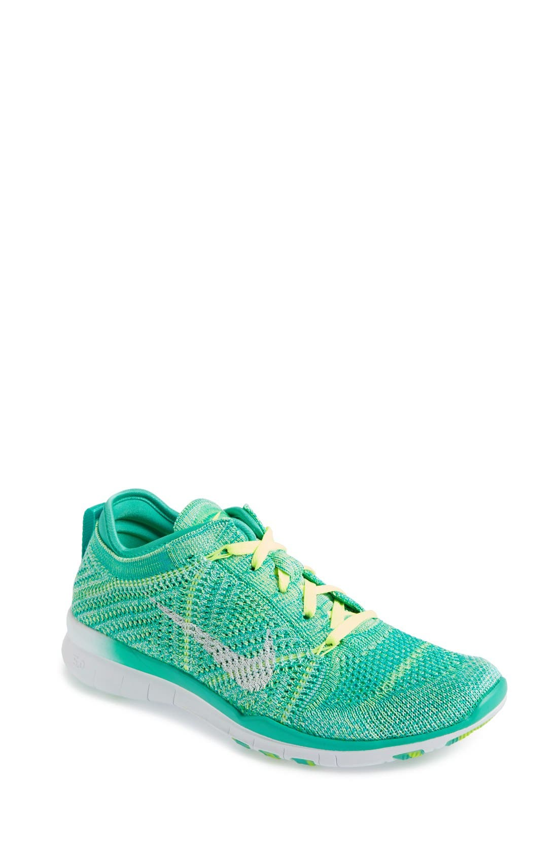 'Free Flyknit 5.0 TR' Training Shoe,                             Main thumbnail 6, color,