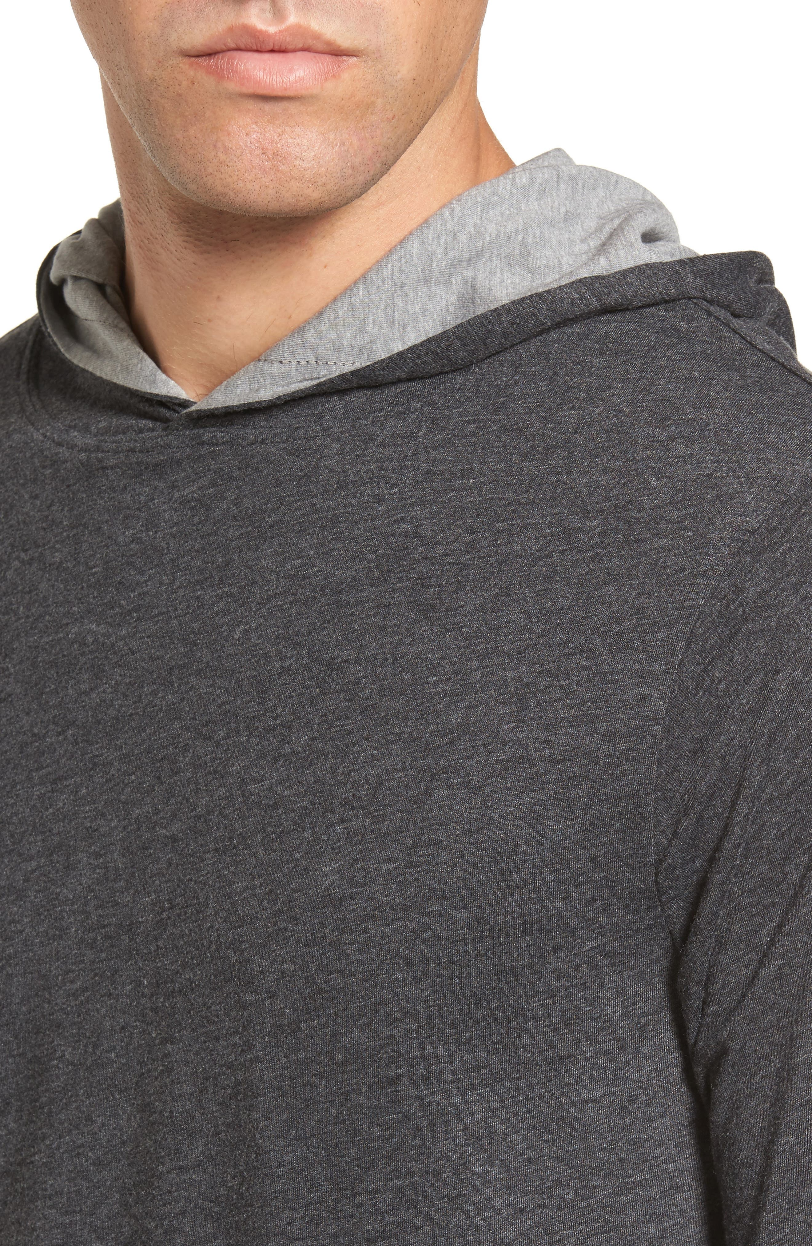 Reversible Hooded Jersey T-Shirt,                             Alternate thumbnail 5, color,                             017