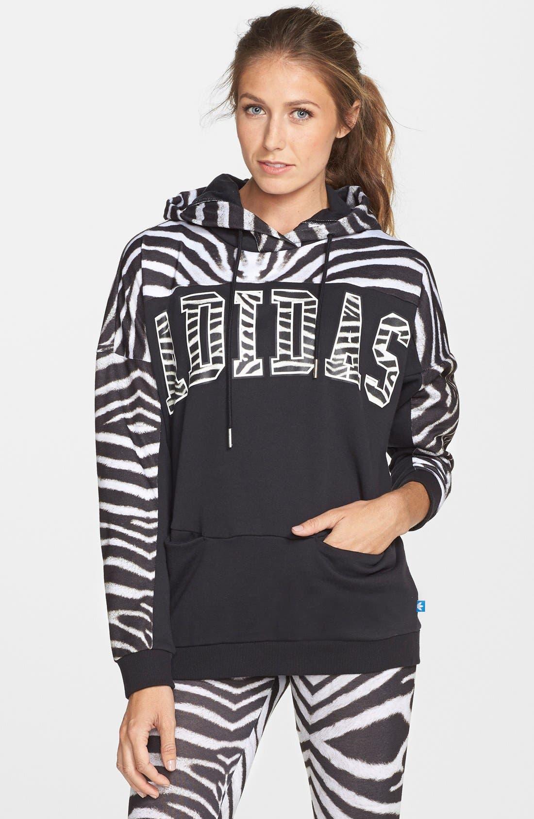 Originals Zebra Hoodie, Main, color, 997