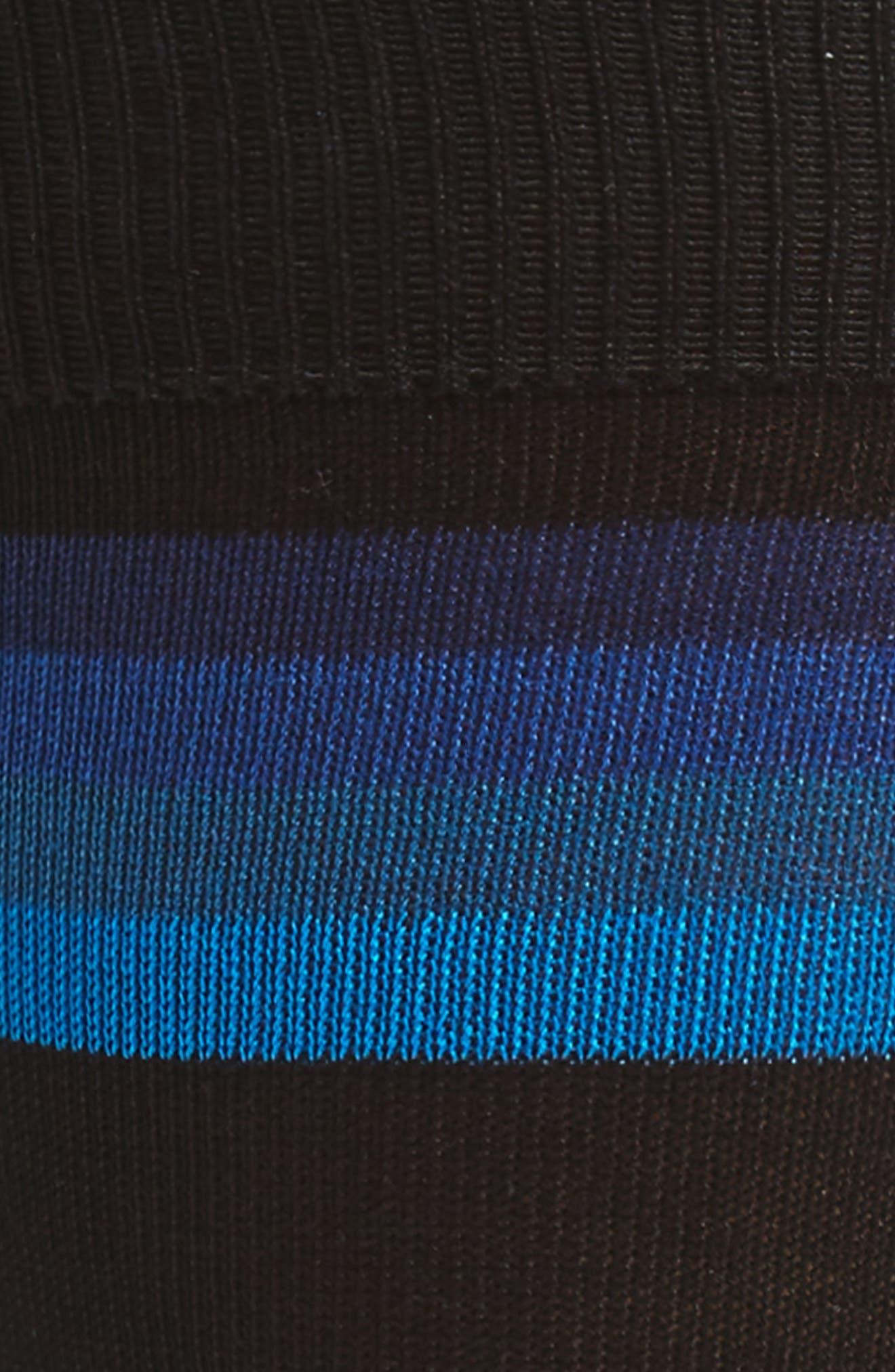 Boston Stripe Socks,                             Alternate thumbnail 2, color,                             001