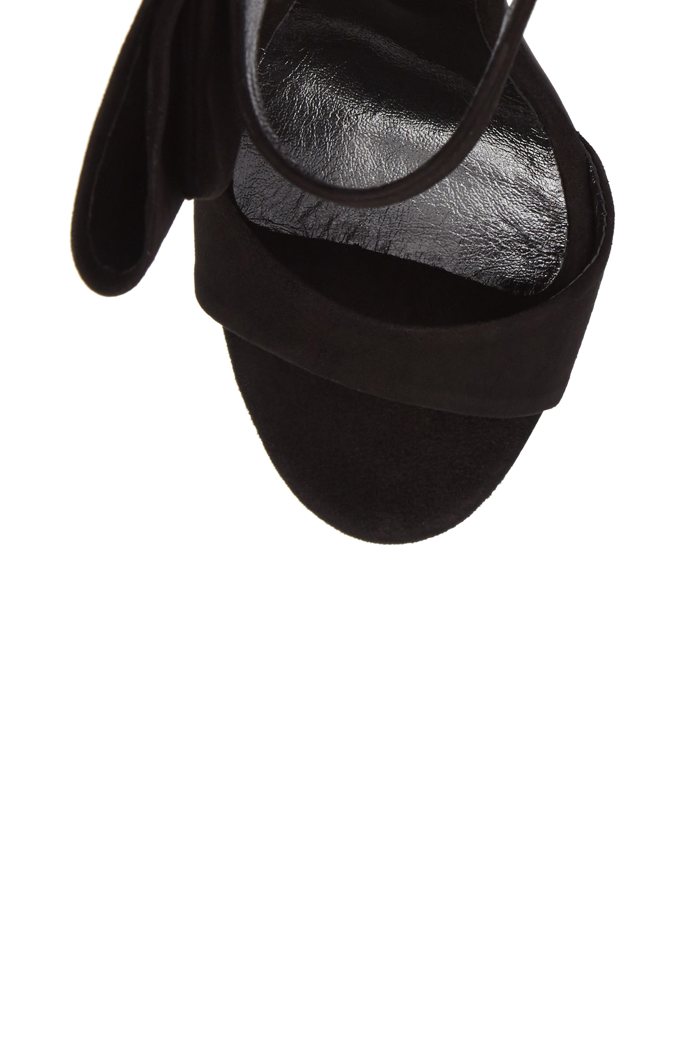 Precious Bow Sandal,                             Alternate thumbnail 5, color,                             001