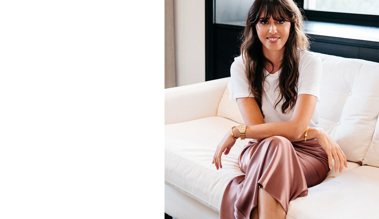 Violette Serrat, Global Beauty Director at Estée Lauder.