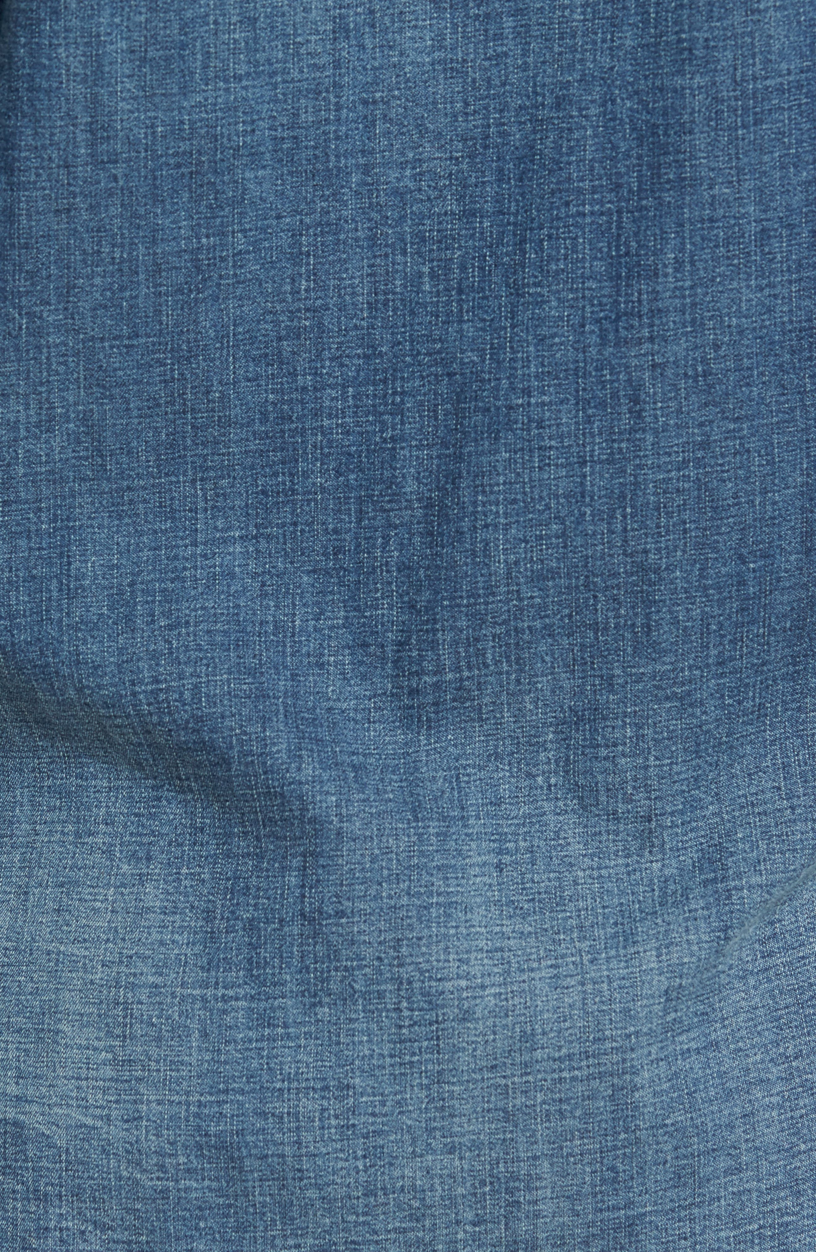 Denim Western Shirt,                             Alternate thumbnail 5, color,                             401