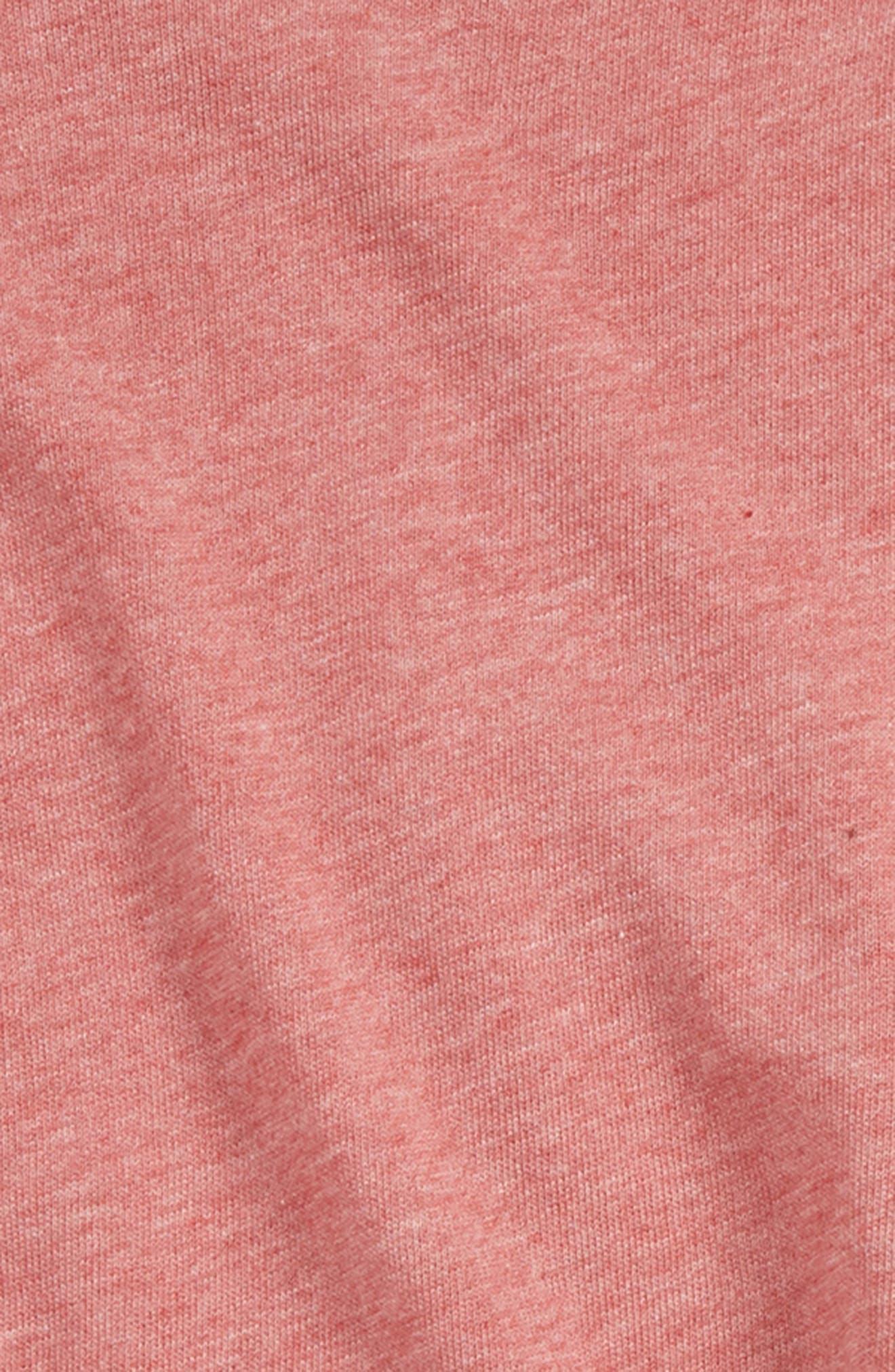 Ruffle Sweatshirt & Leggings Set,                             Alternate thumbnail 2, color,                             WINTER ROSE