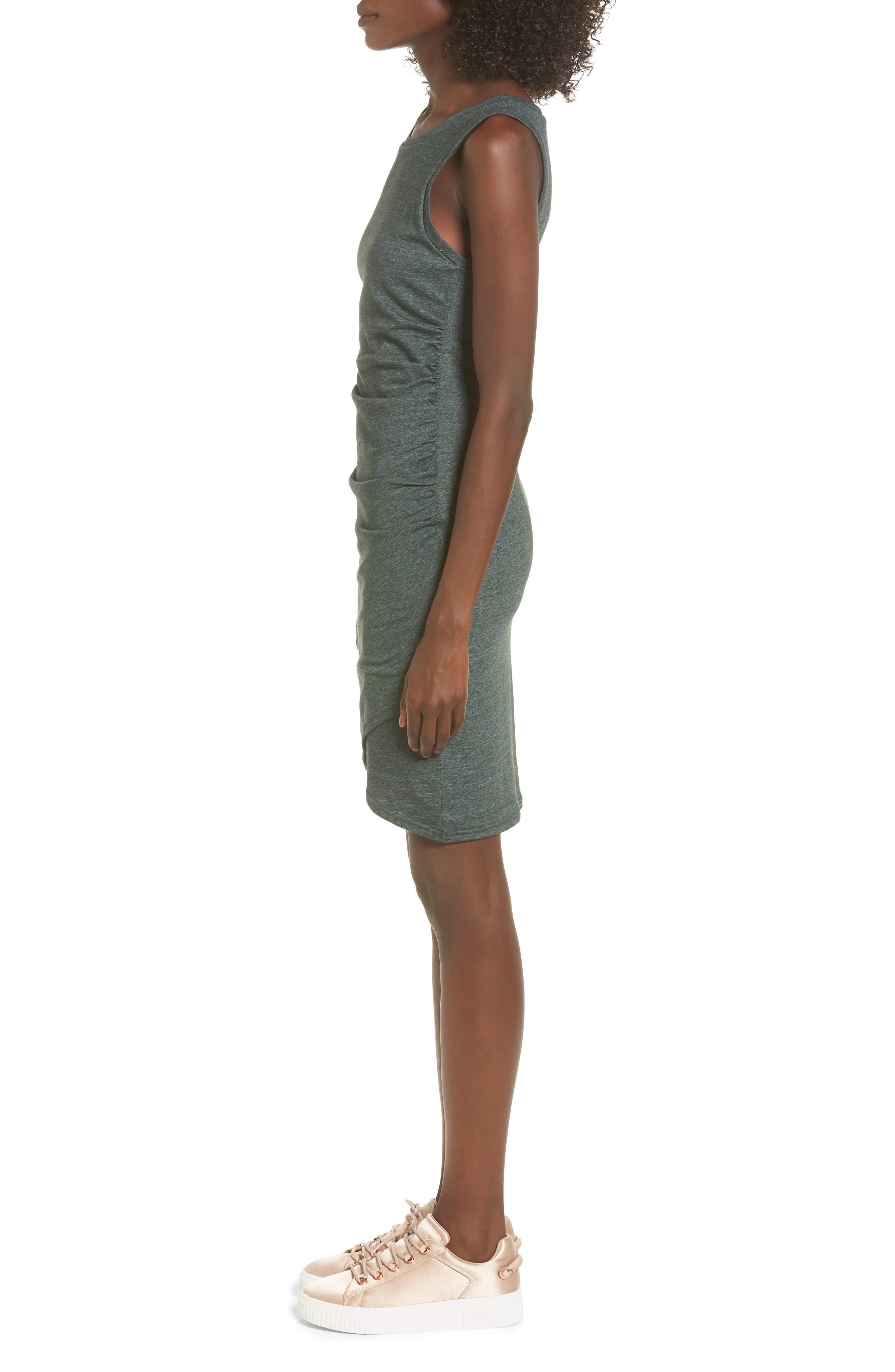 Ruched Body-Con Tank Dress,                             Alternate thumbnail 97, color,