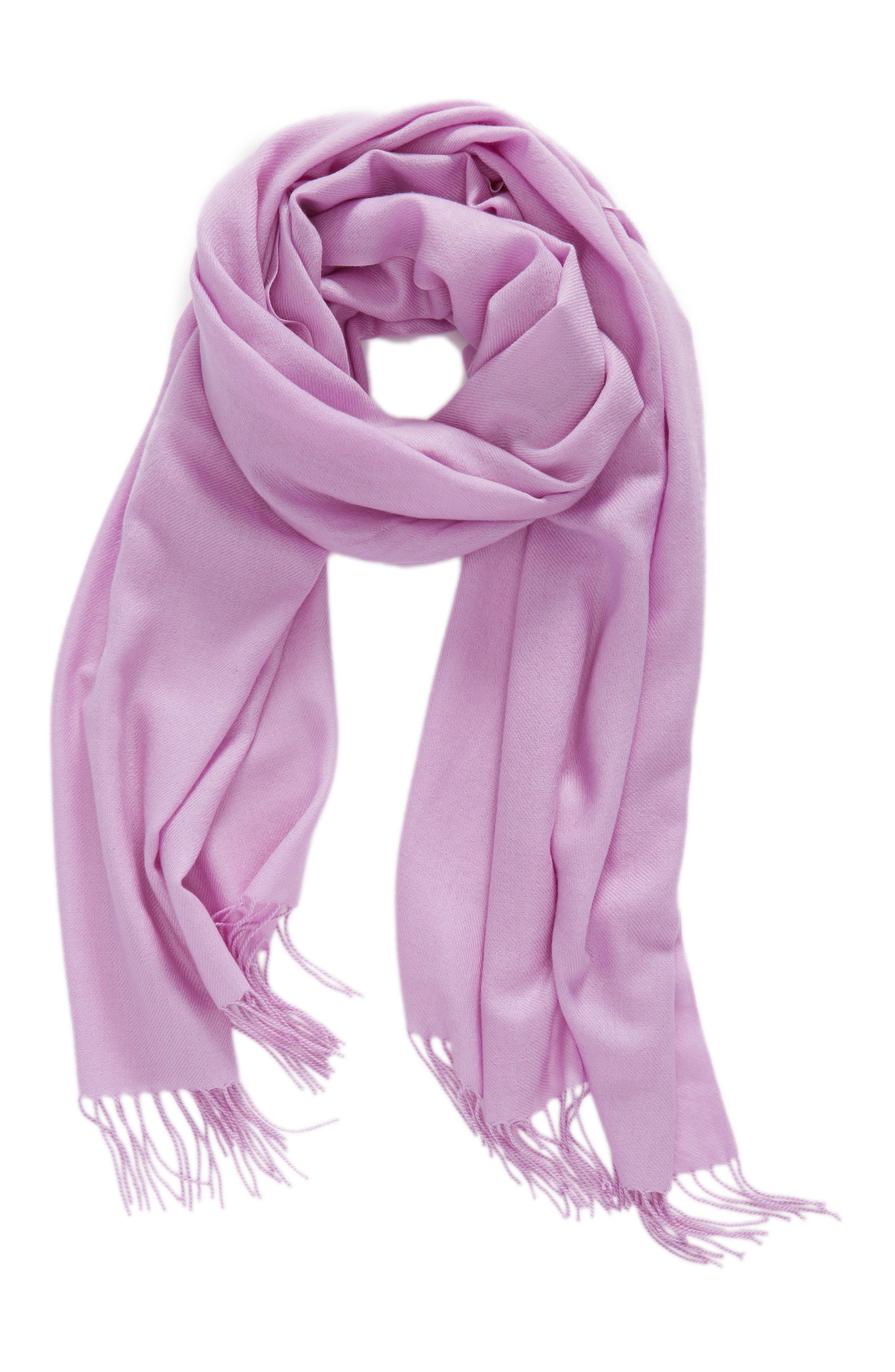 Tissue Weight Wool & Cashmere Scarf,                             Alternate thumbnail 79, color,