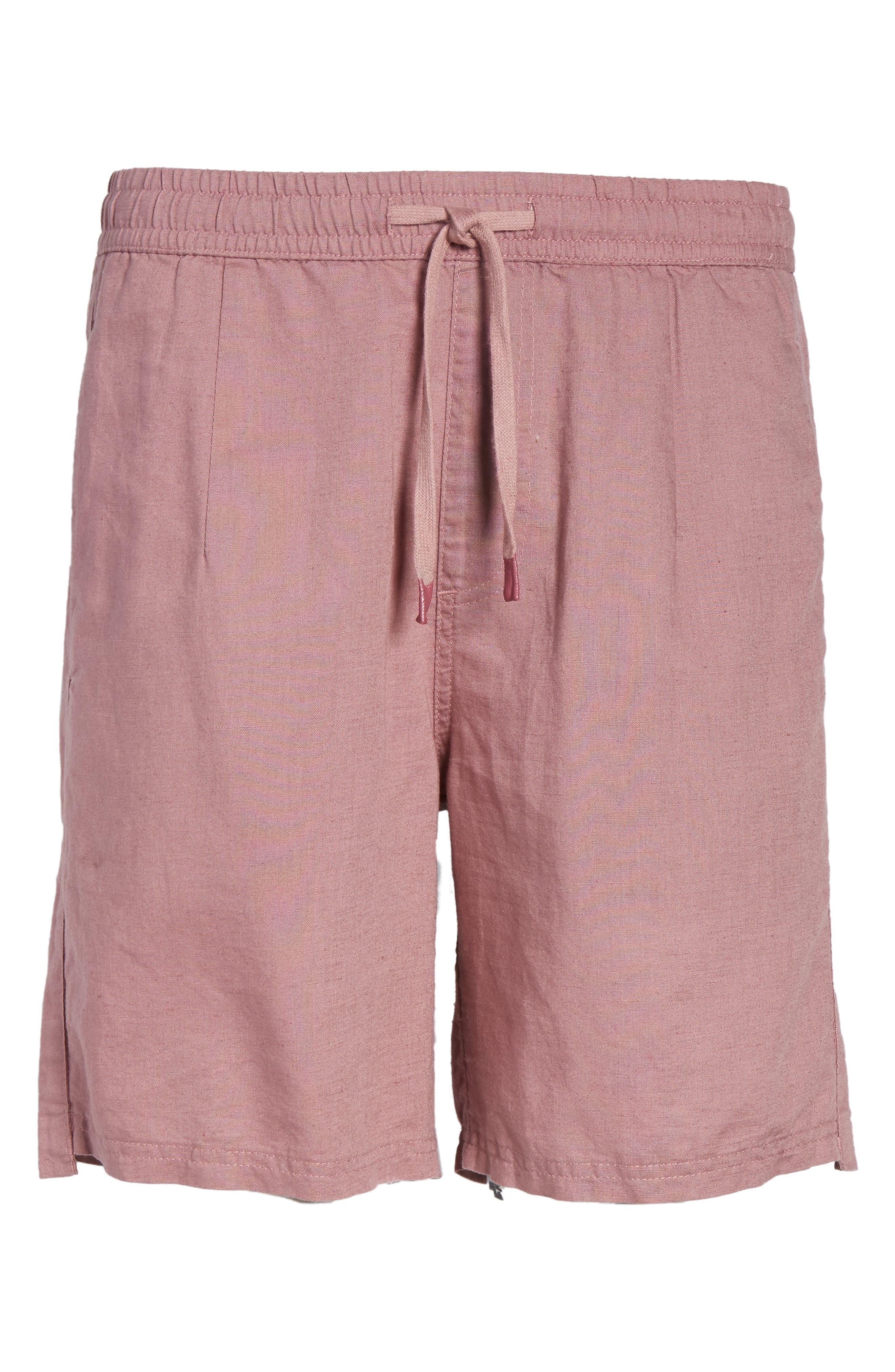 Omni Linen Blend Shorts,                             Alternate thumbnail 16, color,