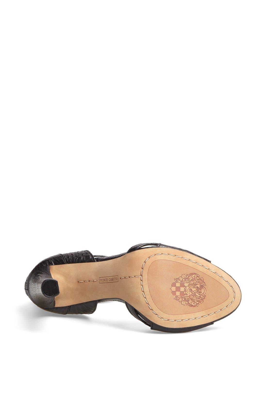 'Oljera' Leather Sandal,                             Alternate thumbnail 2, color,                             001