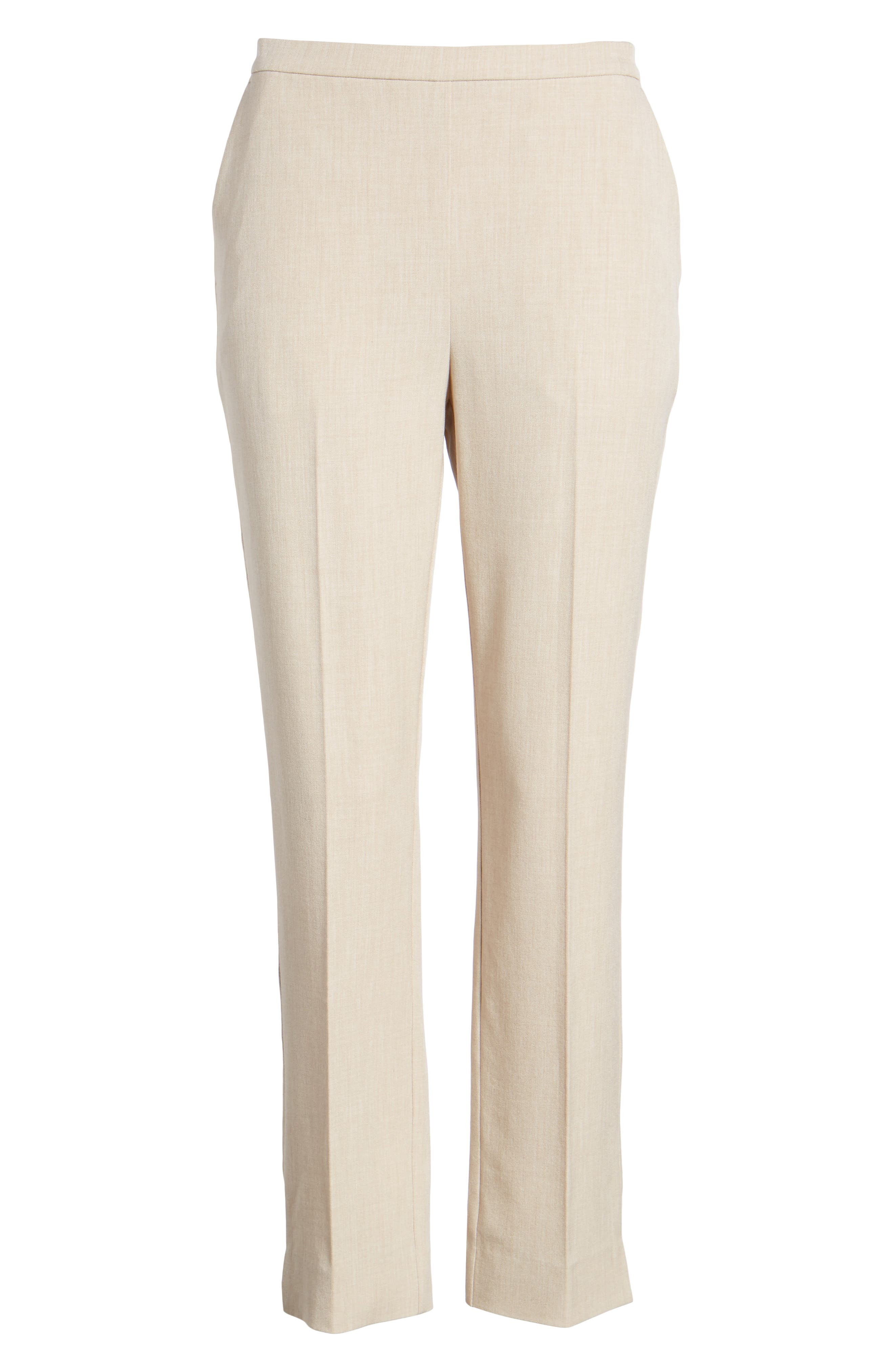 EILEEN FISHER,                             High Waist Tapered Pants,                             Alternate thumbnail 7, color,                             291