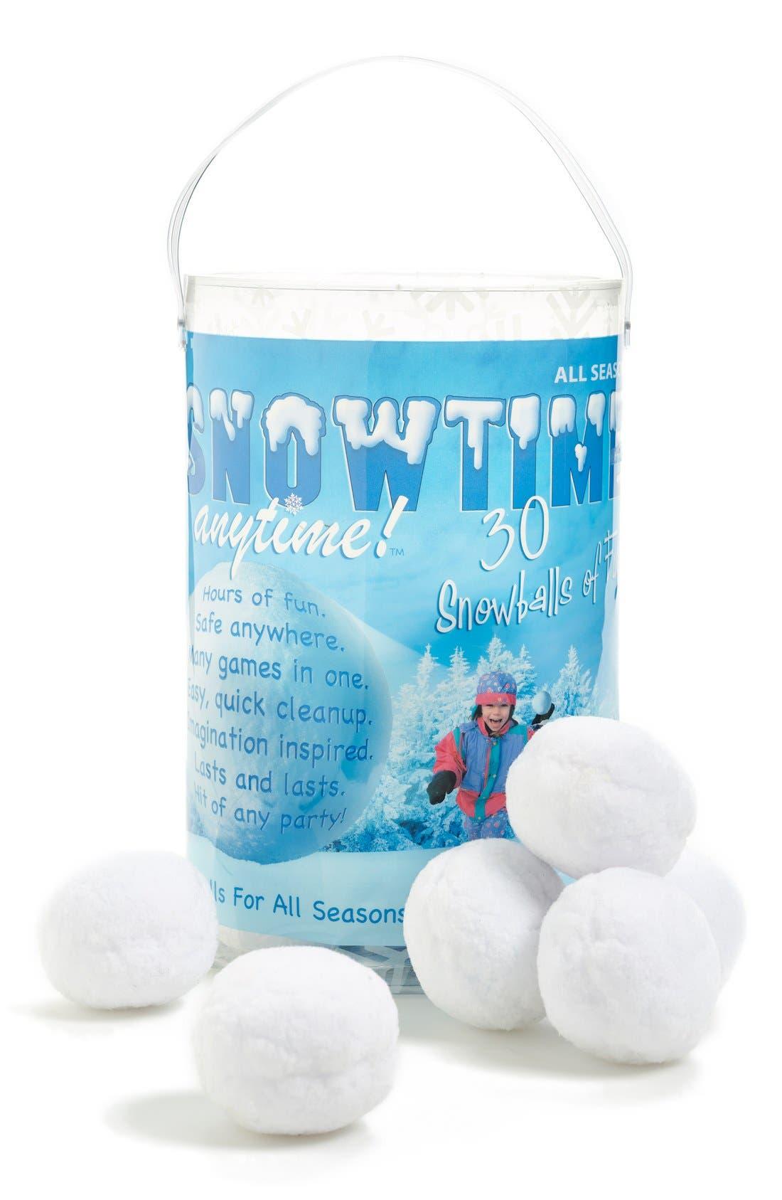 'Snowtime Snowballs',                         Main,                         color, NONE