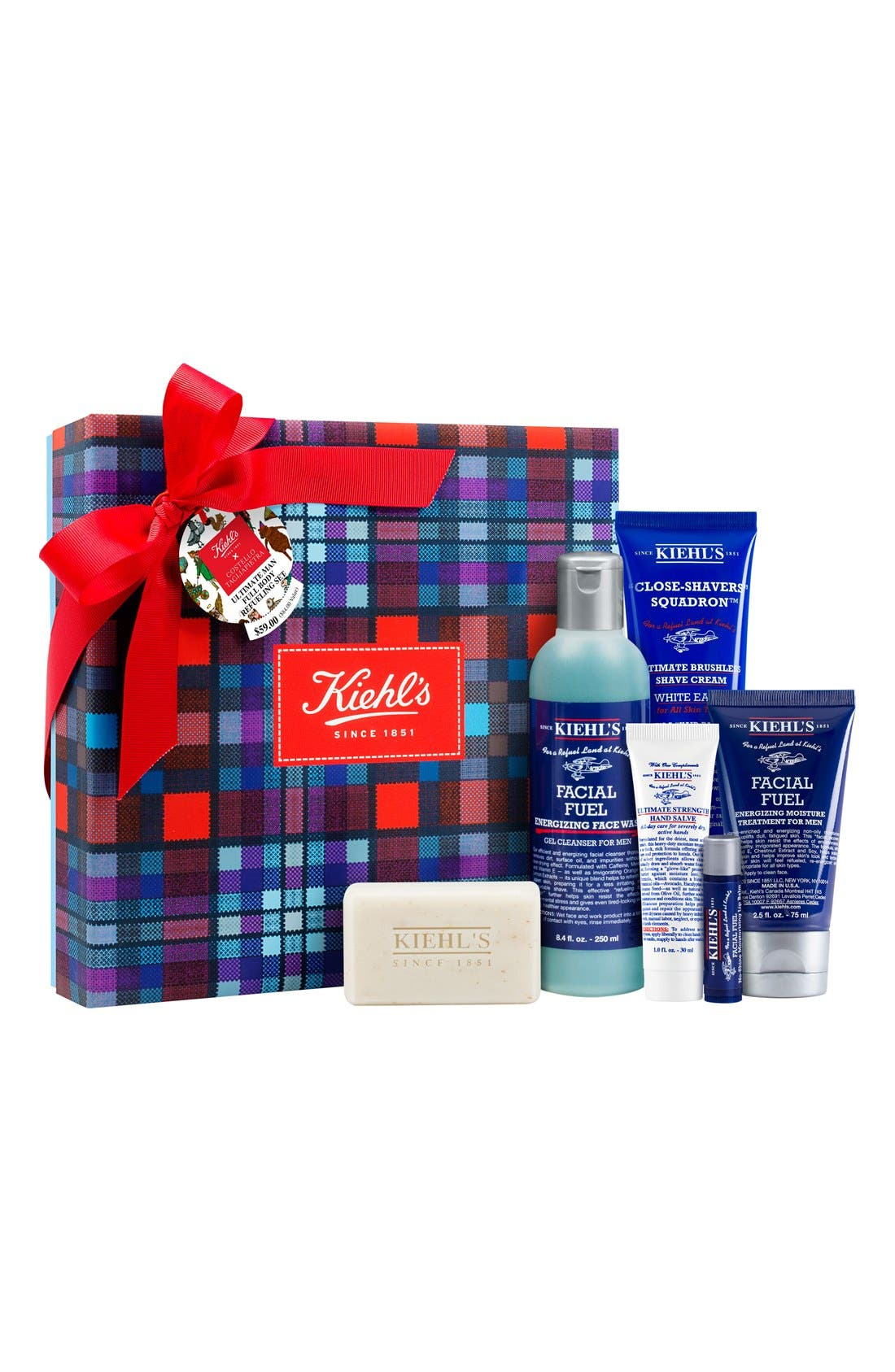 Costello Tagliapietra for Kiehl's Since 1851 'Ultimate Man Full Body Refueling' Set,                             Main thumbnail 1, color,                             000