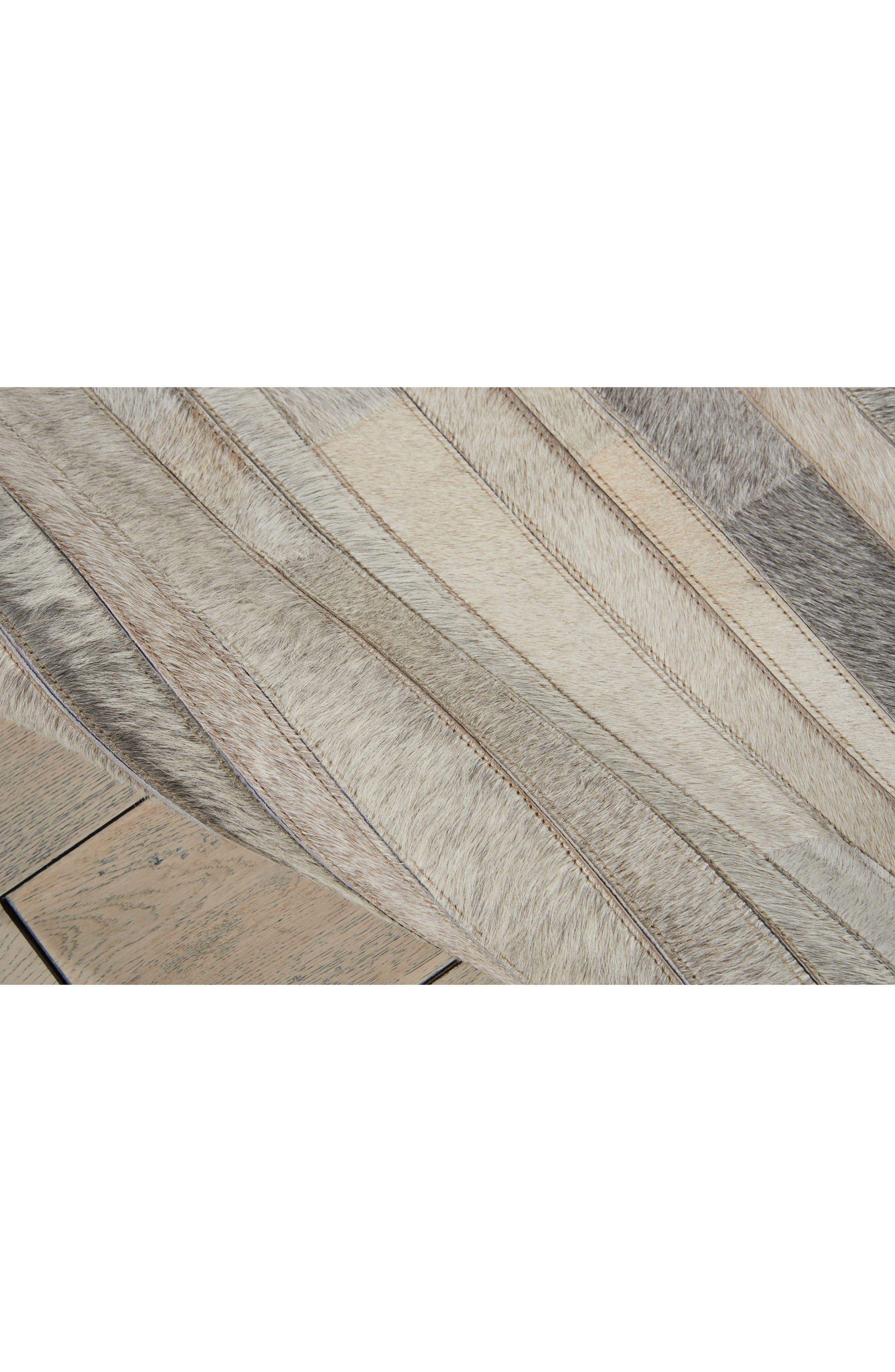 Home Prairie Genuine Calf Hair Area Rug,                             Alternate thumbnail 26, color,