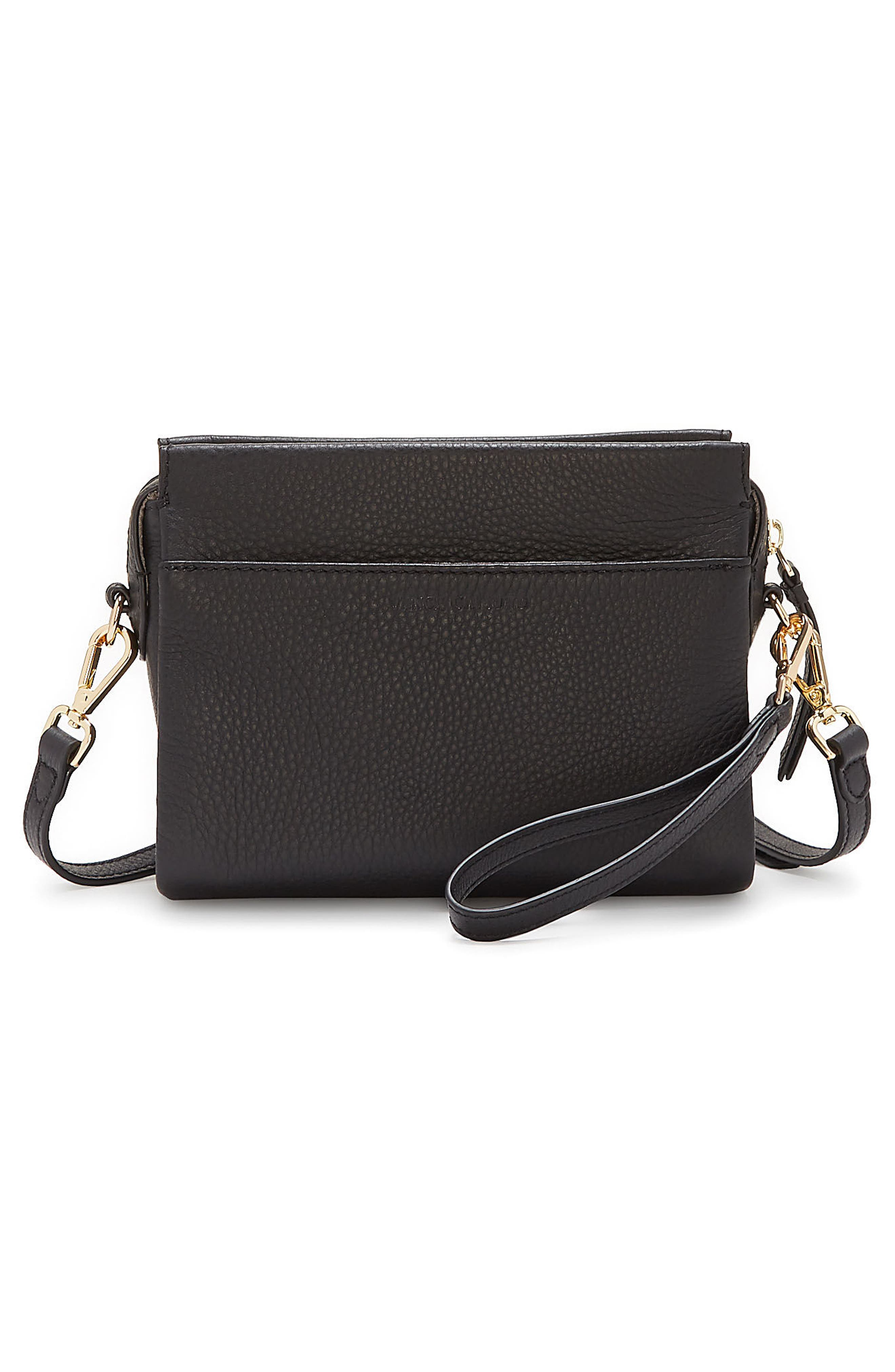 Codec Leather Crossbody Bag,                             Alternate thumbnail 5, color,