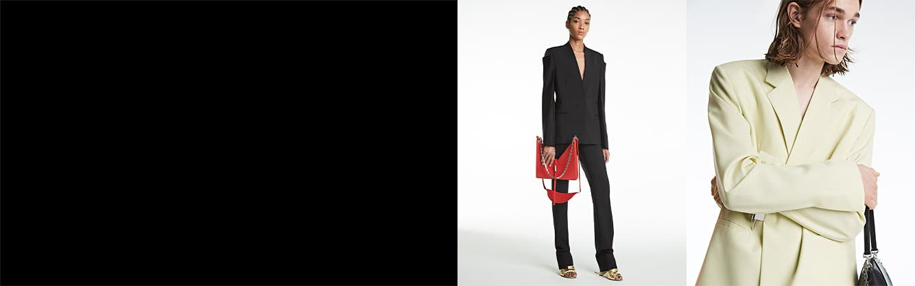 Givenchy Spring/Summer '21 collection: clothing, handbags and shoes.