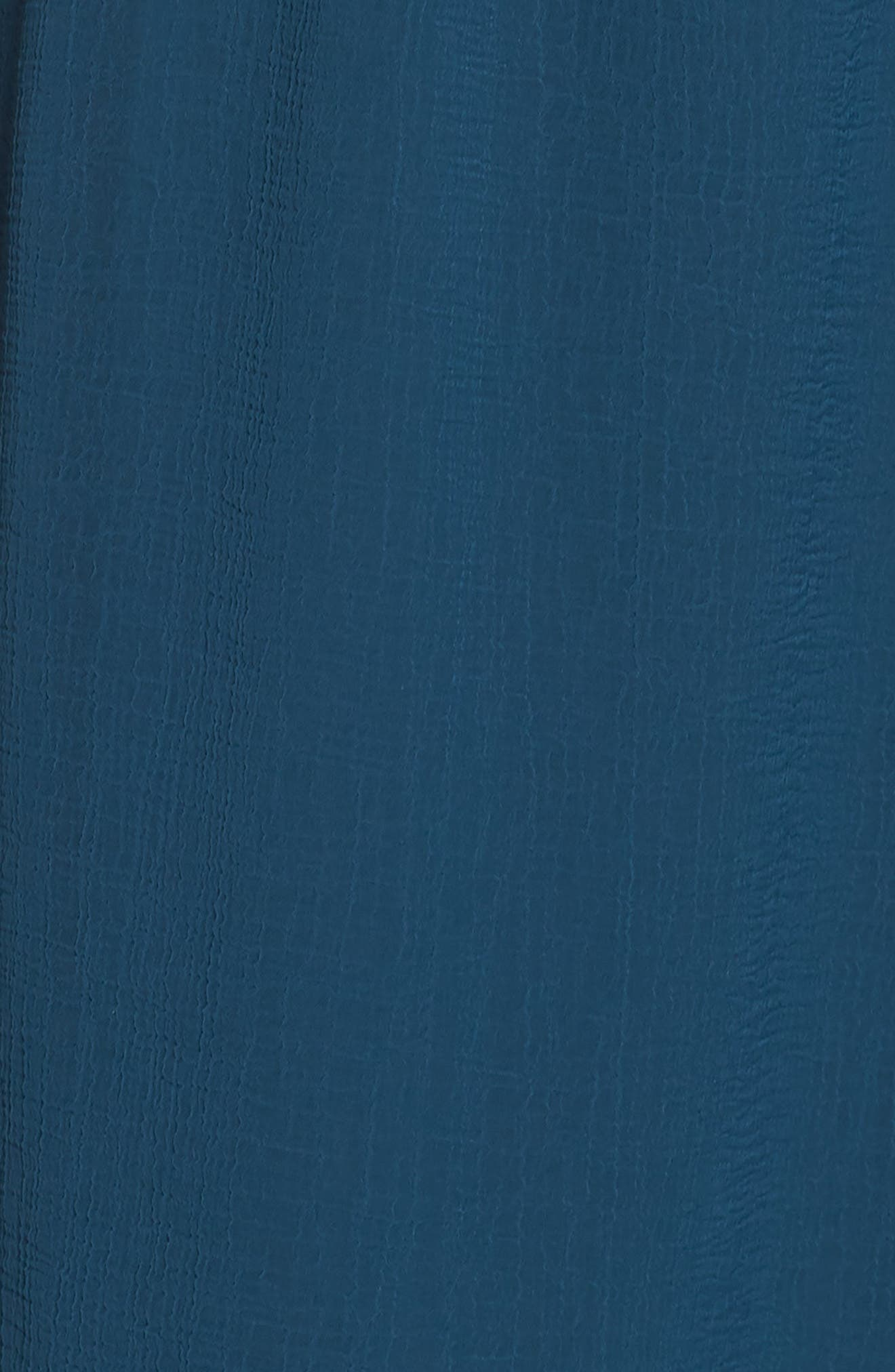 Bishop Sleeve Blouson Dress,                             Alternate thumbnail 6, color,                             471