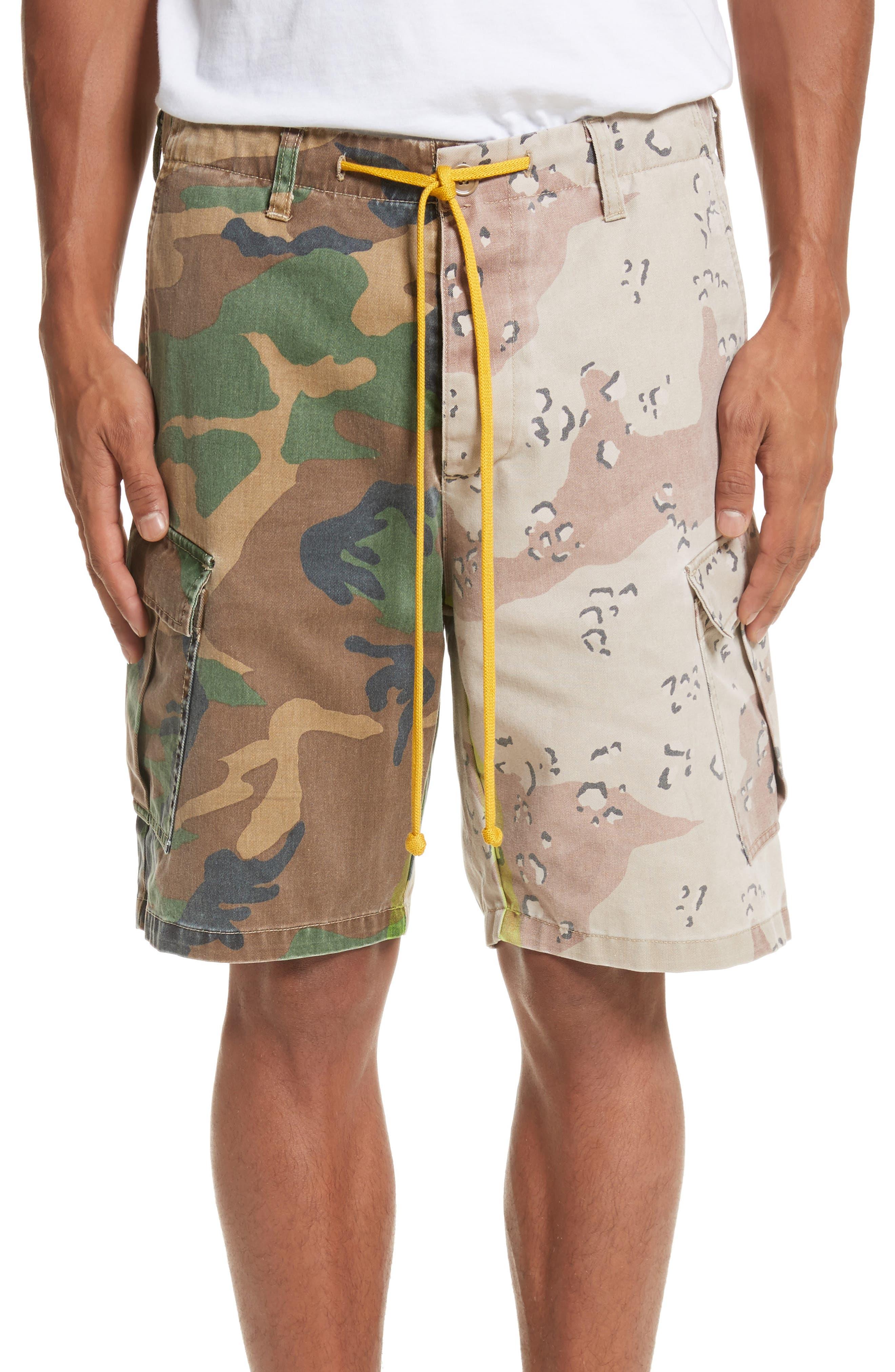Anasi Camo Cargo Shorts,                             Main thumbnail 1, color,                             247