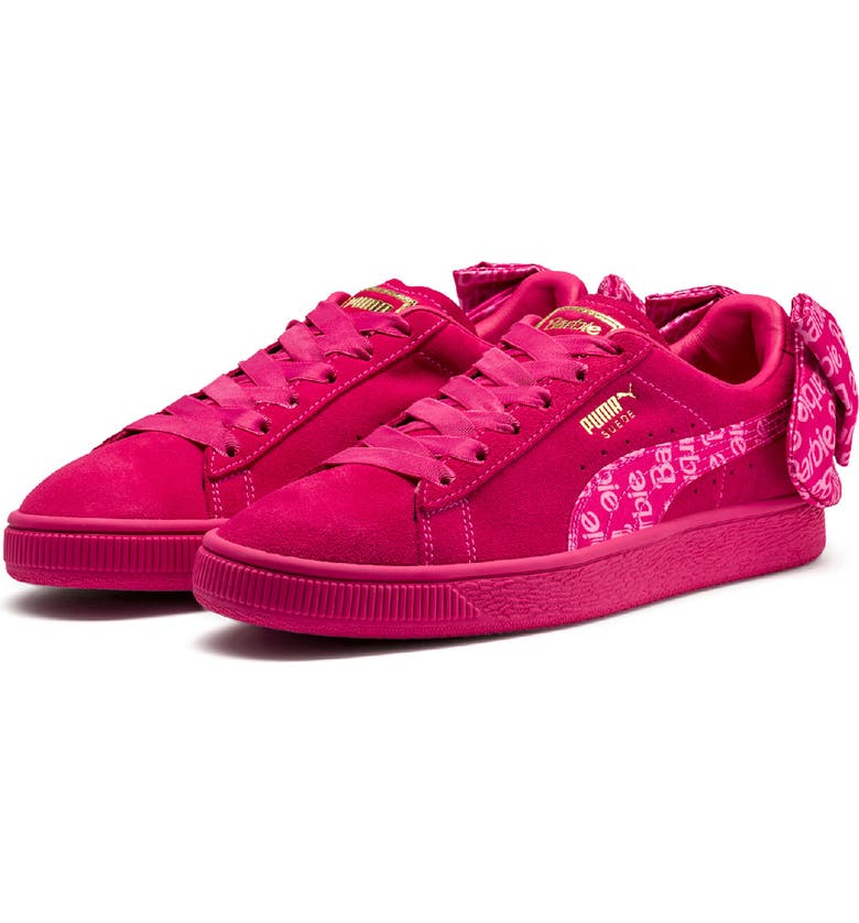 PUMA x Barbie sup ®  sup  Suede Classic Sneaker with Doll f115477b4