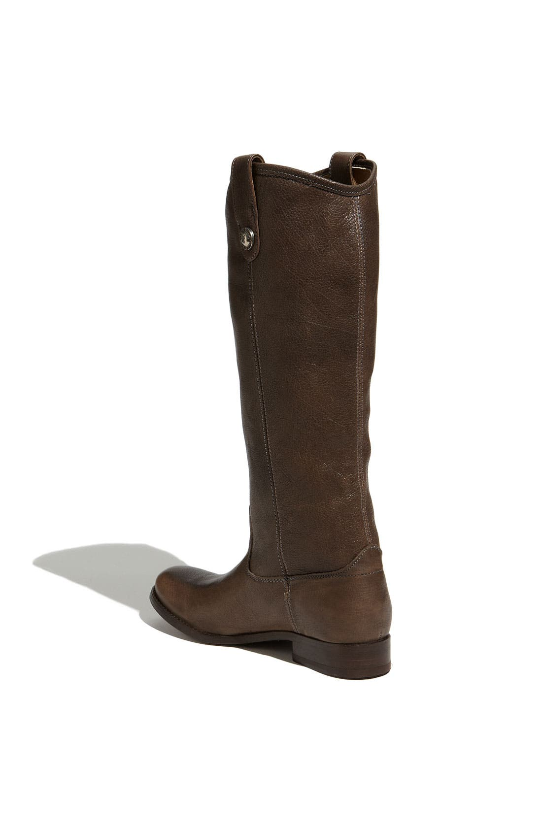 'Melissa Button' Leather Riding Boot,                             Alternate thumbnail 130, color,