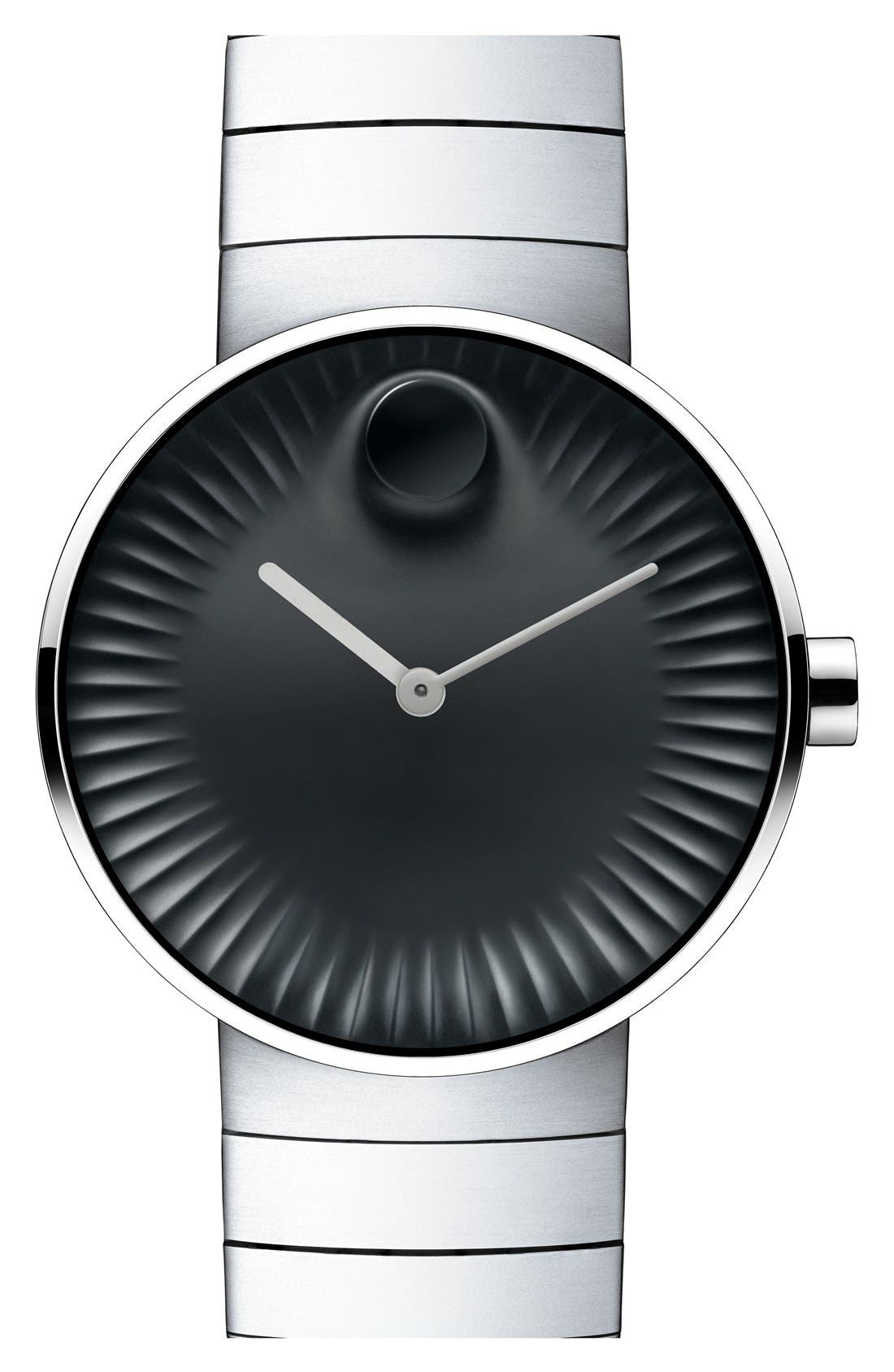 'Edge' Bracelet Watch, 40mm,                             Main thumbnail 1, color,                             040