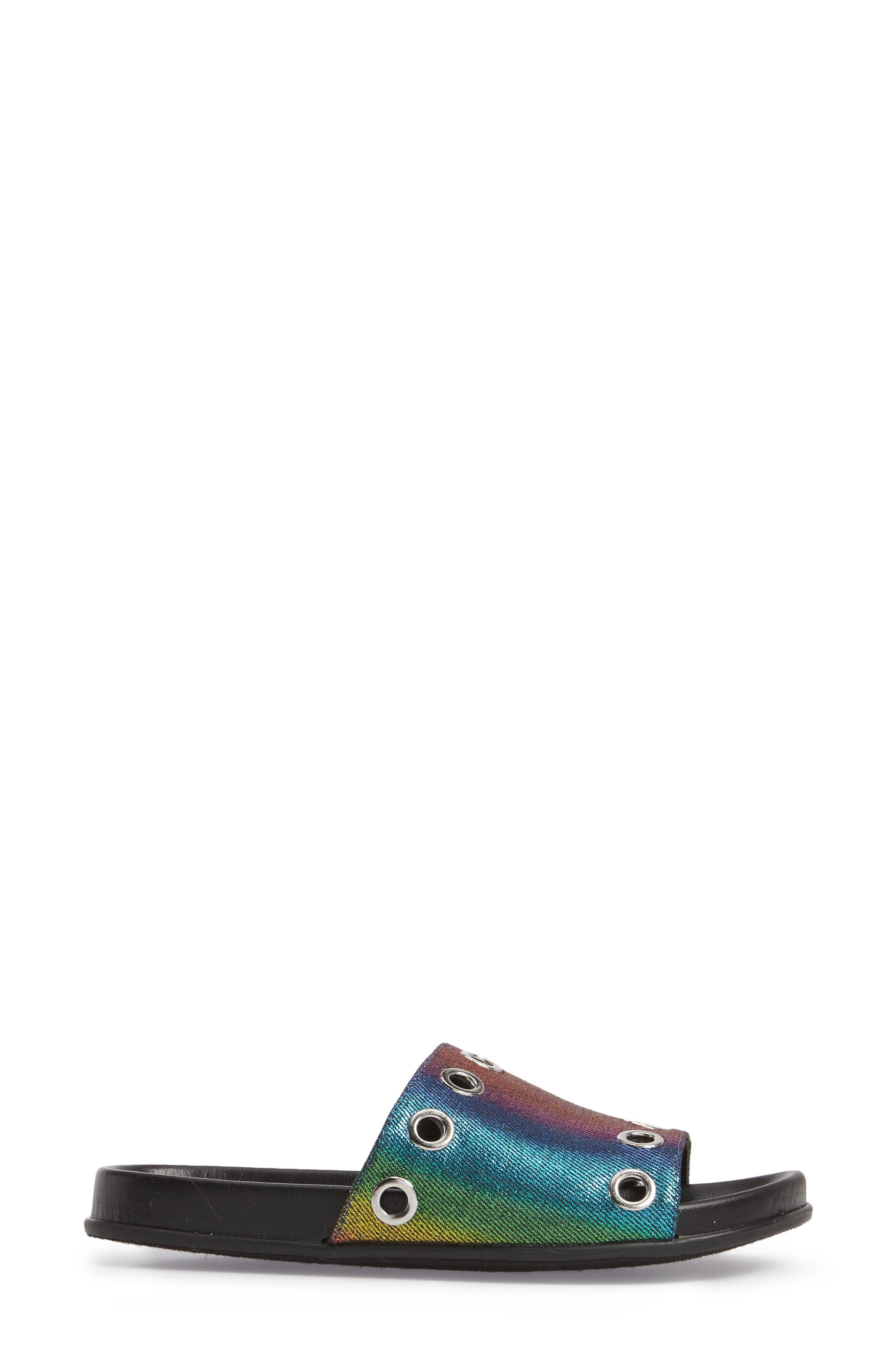 Lenny Slide Sandal,                             Alternate thumbnail 6, color,