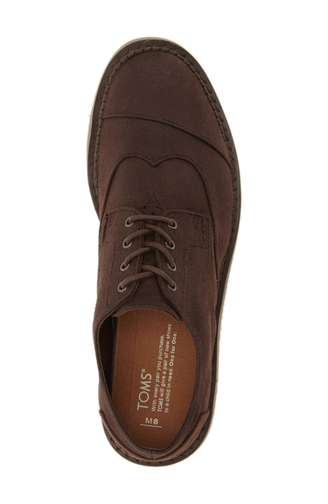 'Classic Brogue' Cotton Twill Derby,                             Alternate thumbnail 66, color,