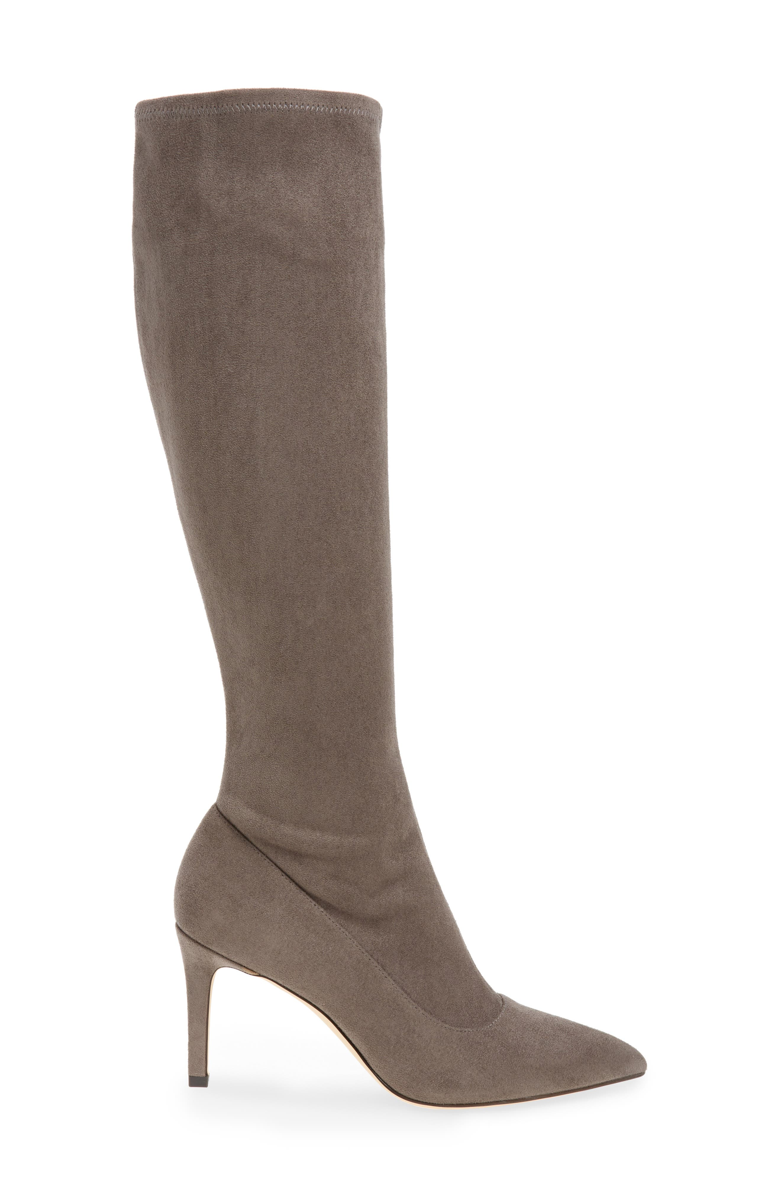 Carrara Knee High Pointy Toe Boot,                             Alternate thumbnail 6, color,