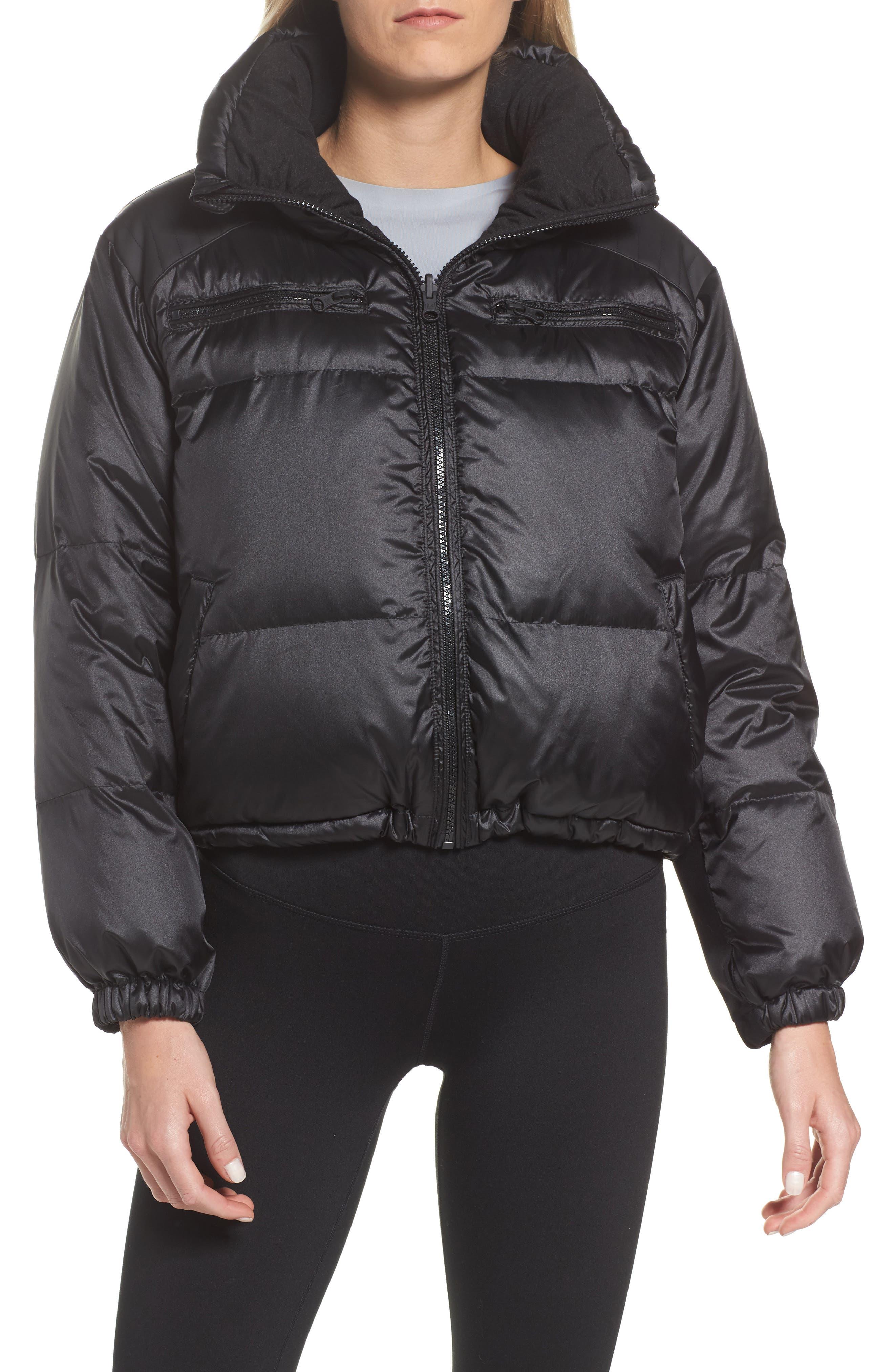 Reversible Puffer Jacket,                             Main thumbnail 1, color,                             001