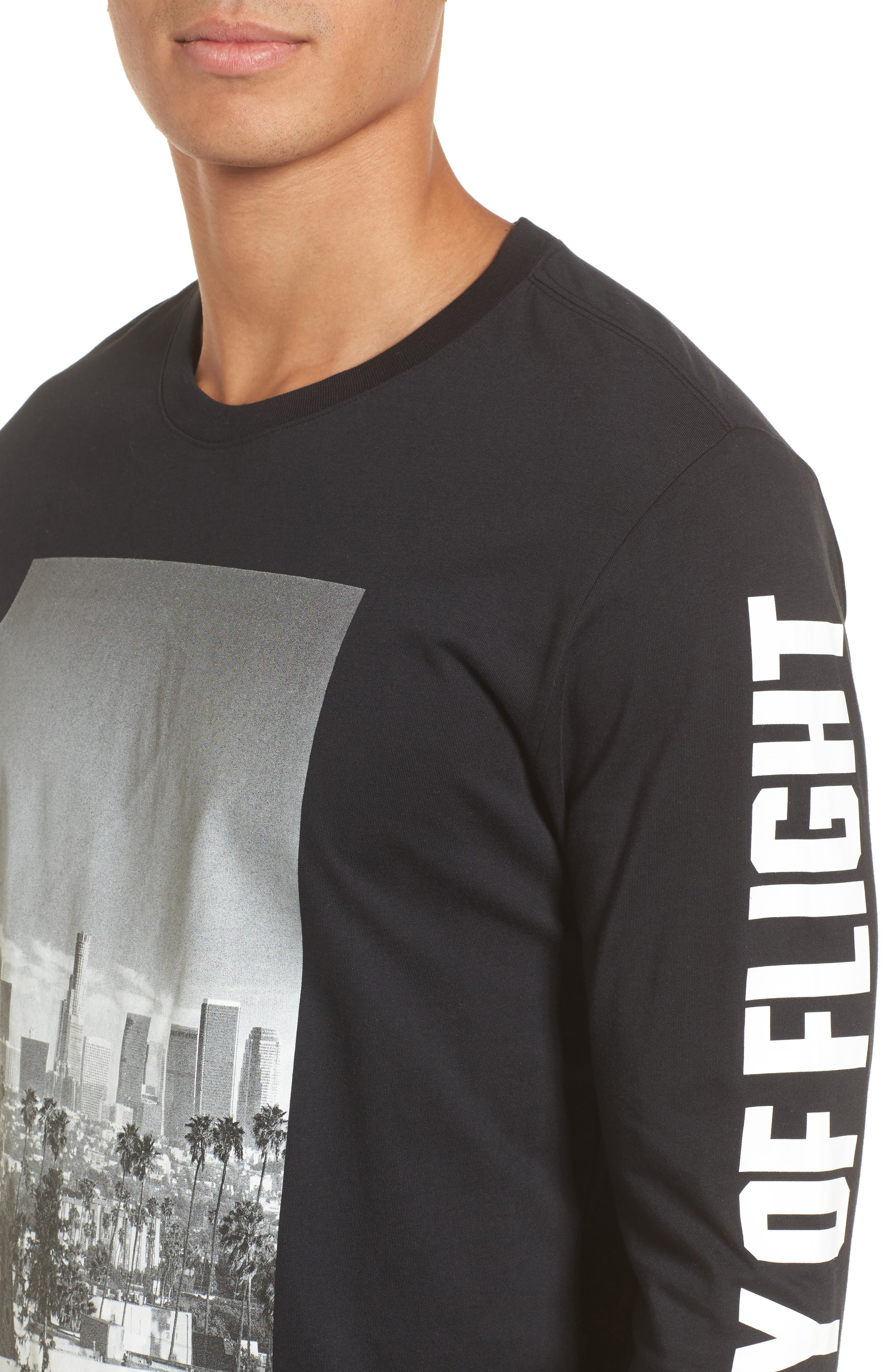 City of Flight T-Shirt,                             Alternate thumbnail 4, color,                             010