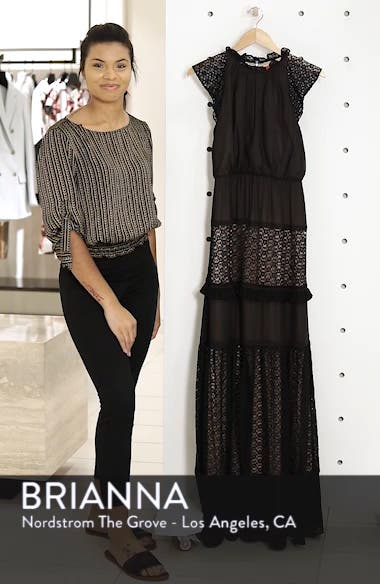Lace Inset Gown, sales video thumbnail