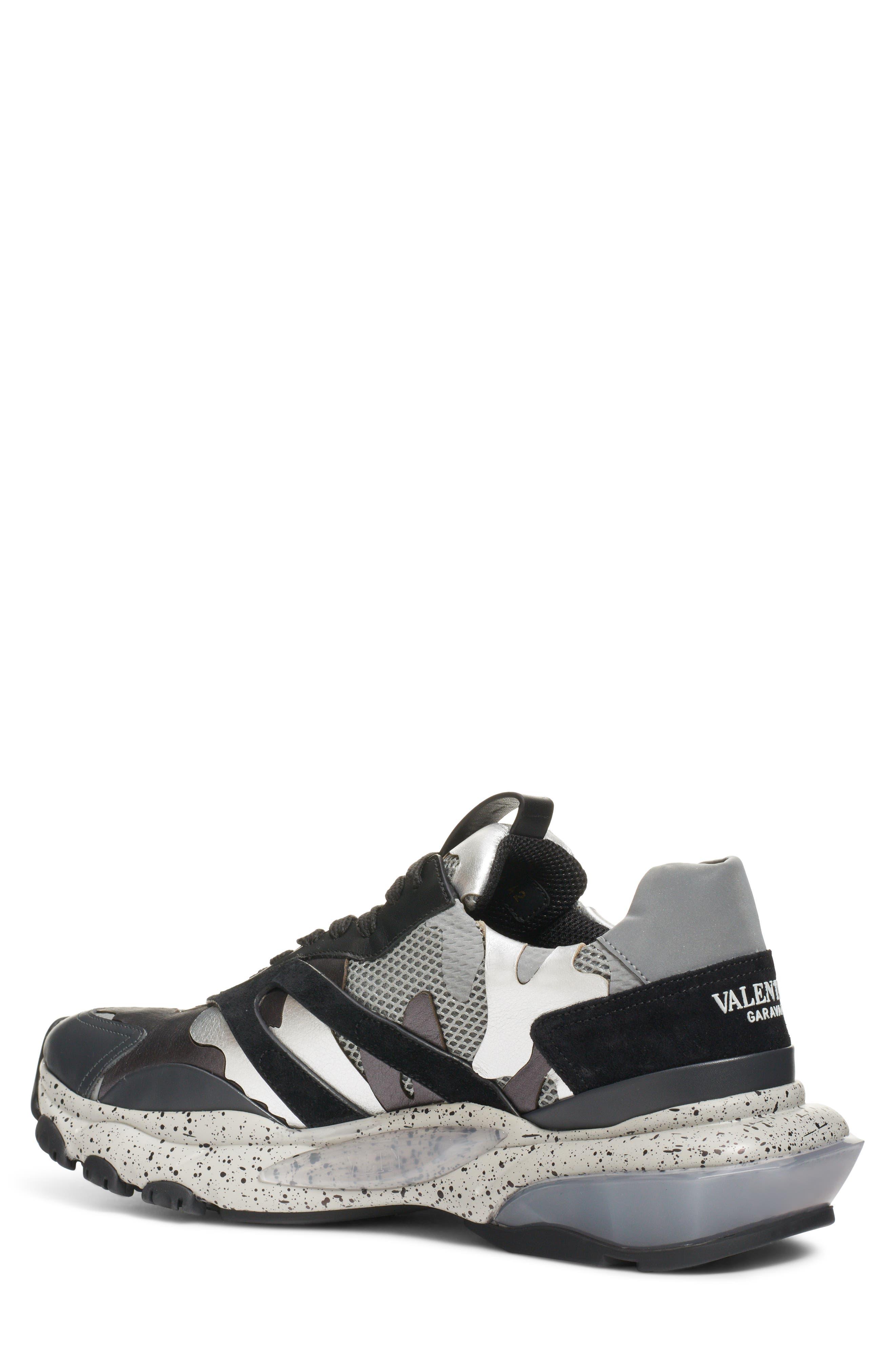 Bounce Sneaker,                             Alternate thumbnail 2, color,                             DARK SILVER/ BLACK