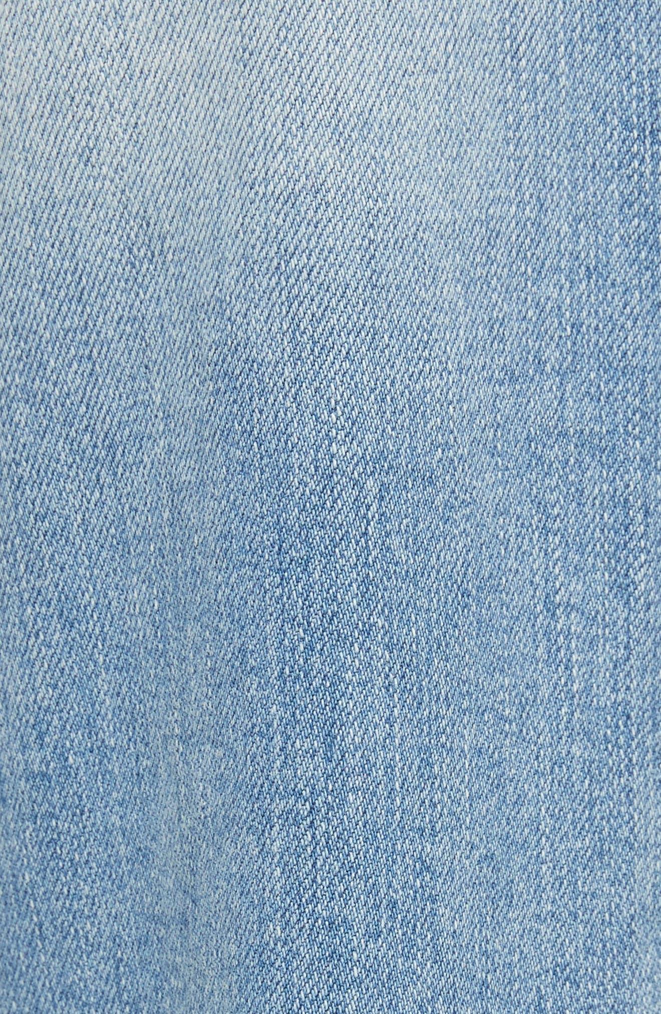 Josalind Straight Leg Crop Jeans,                             Alternate thumbnail 5, color,                             479