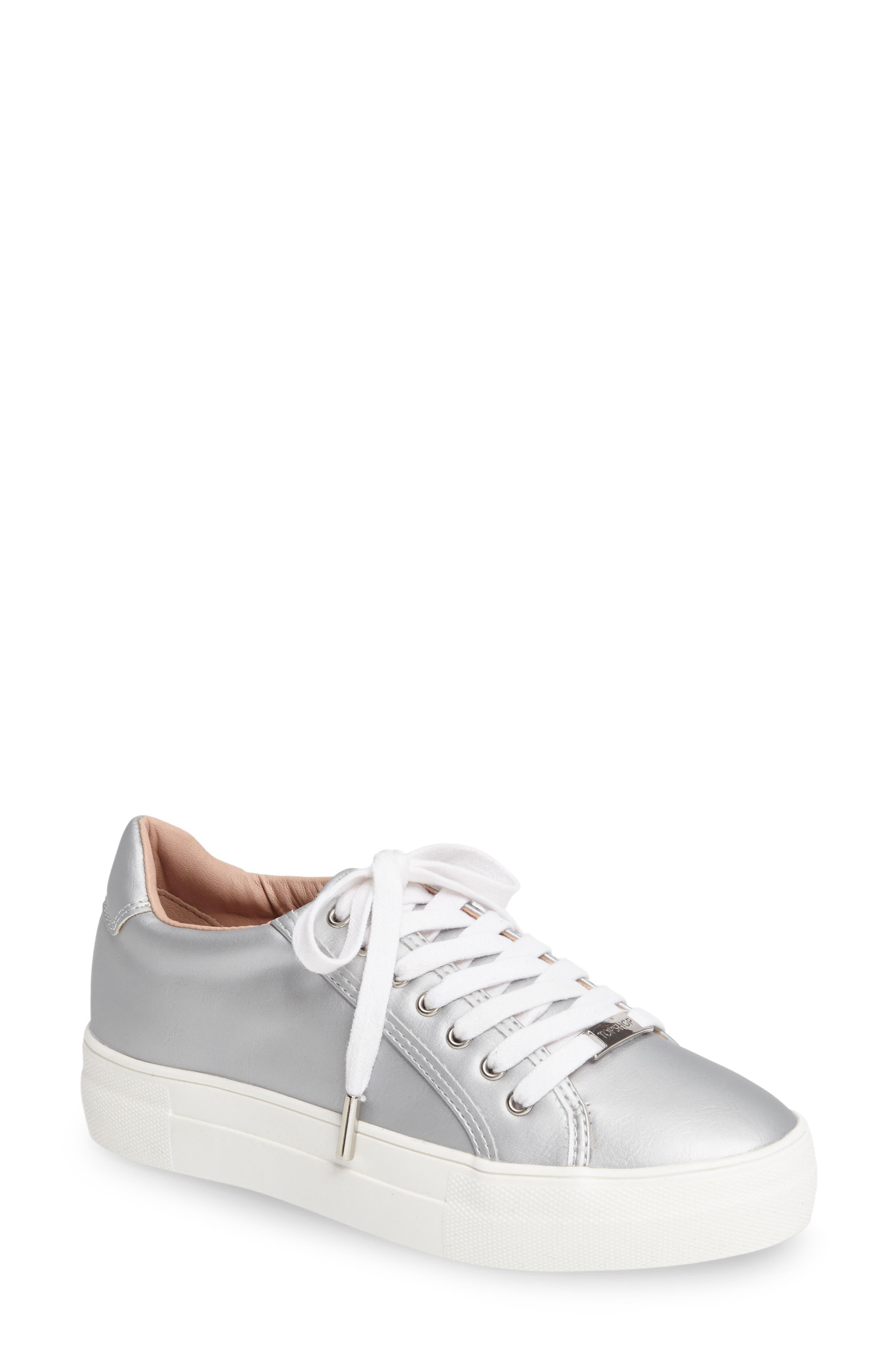 Crystal Flatform Sneaker,                         Main,                         color, 040