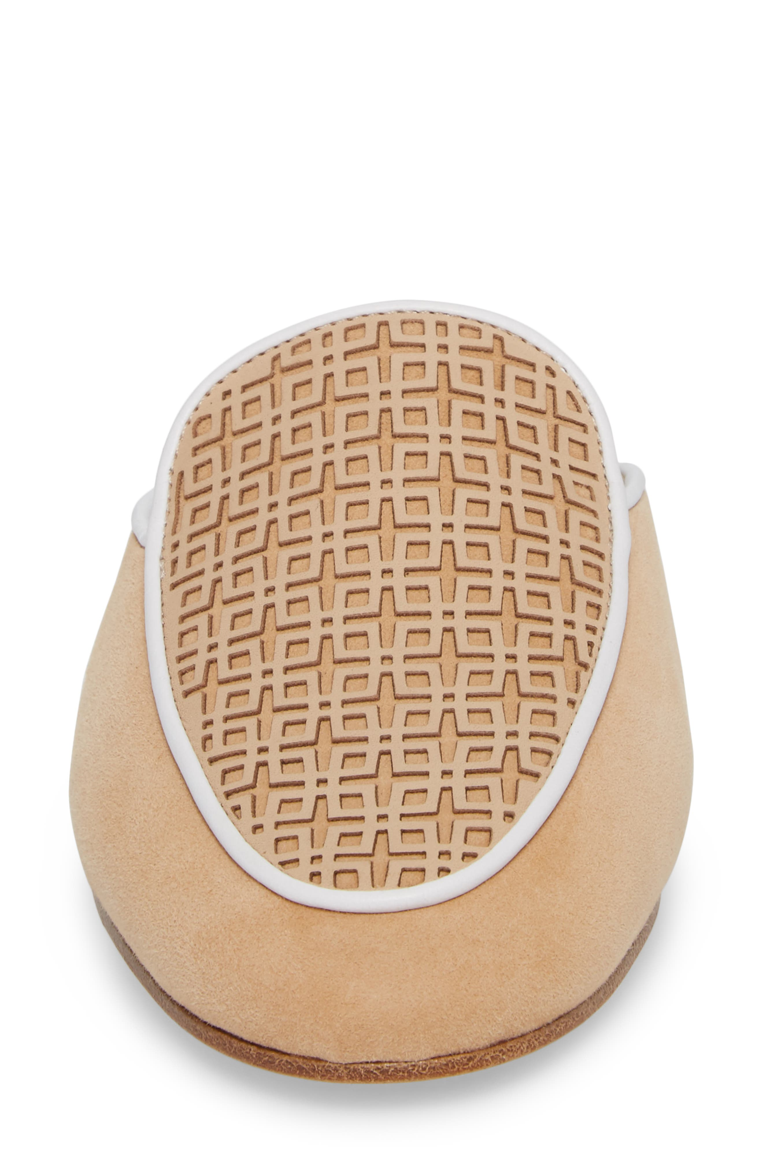 Caymen Mule,                             Alternate thumbnail 4, color,                             NATURAL/ FAWN/ WHITE