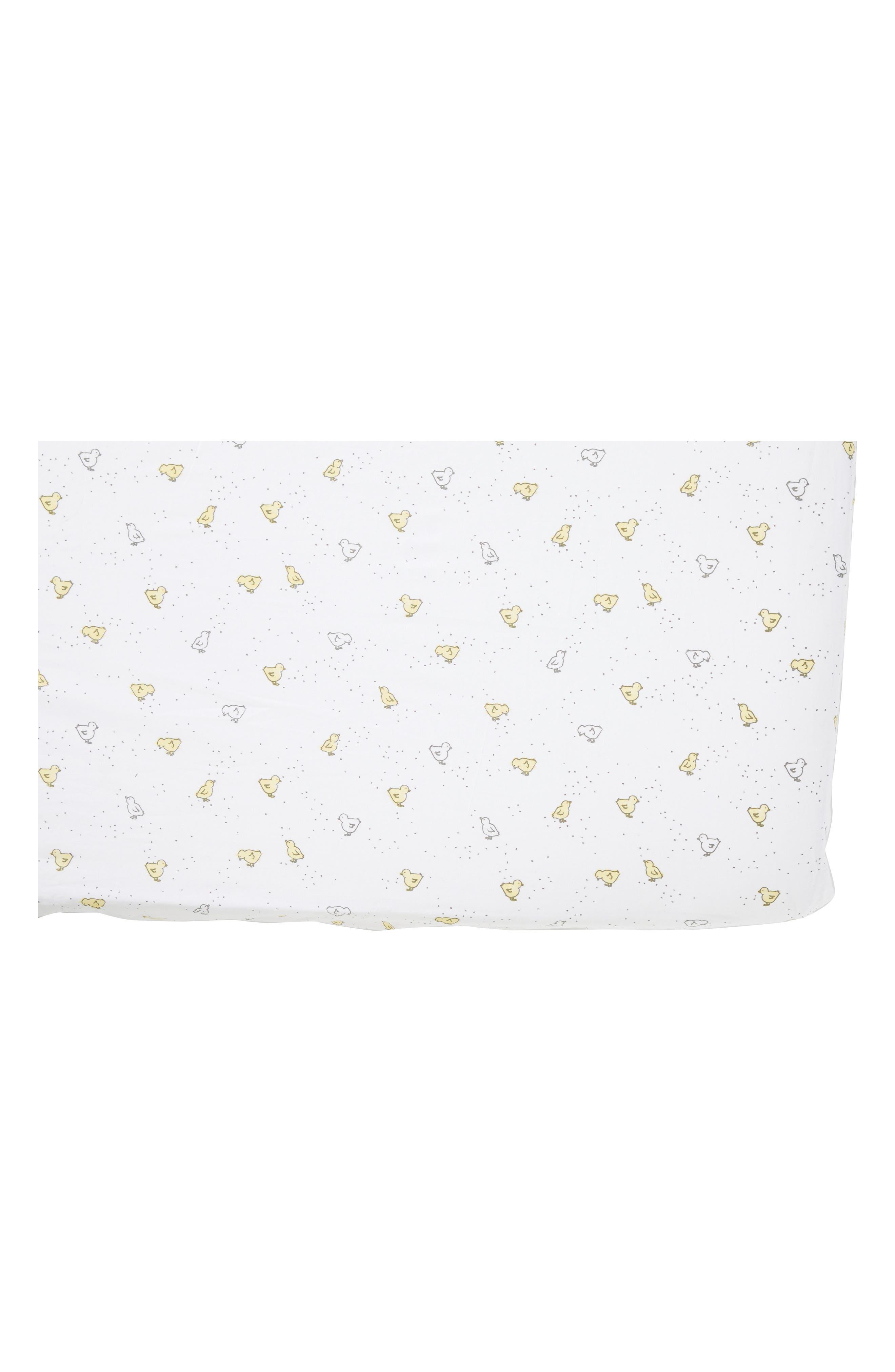 Baby Chick Crib Sheet,                         Main,                         color, 907