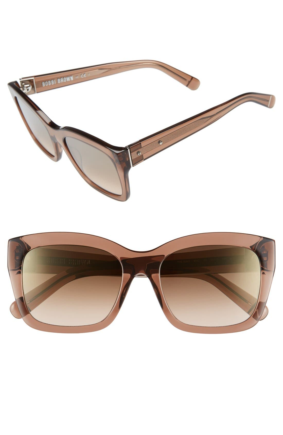 'Ava' 54mm Sunglasses,                             Main thumbnail 3, color,