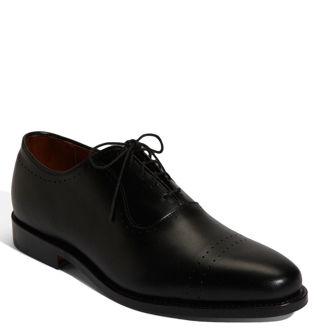 'Vernon' Oxford,                             Main thumbnail 1, color,                             BLACK CALF