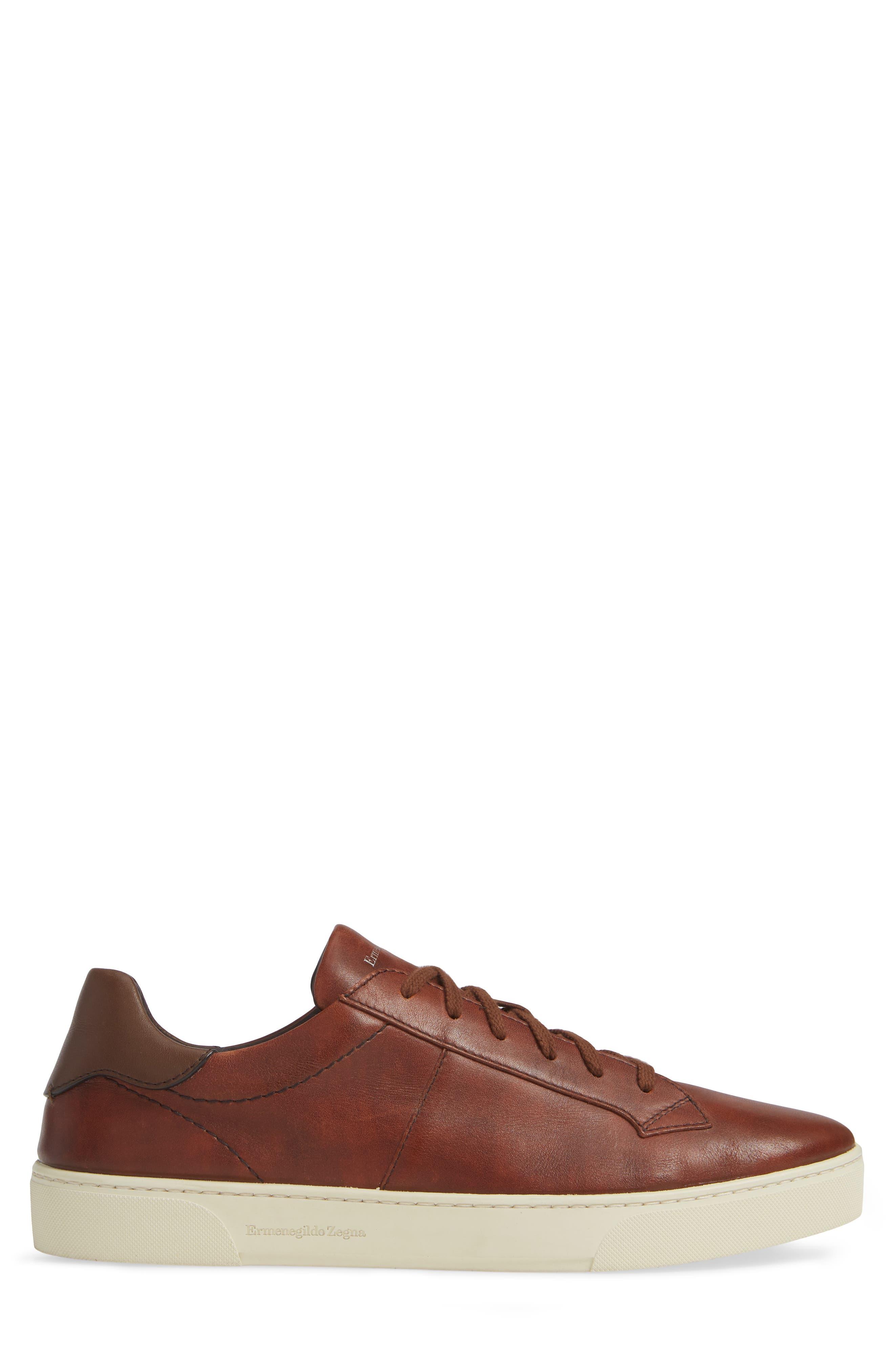Sneaker,                             Alternate thumbnail 3, color,                             BROWN