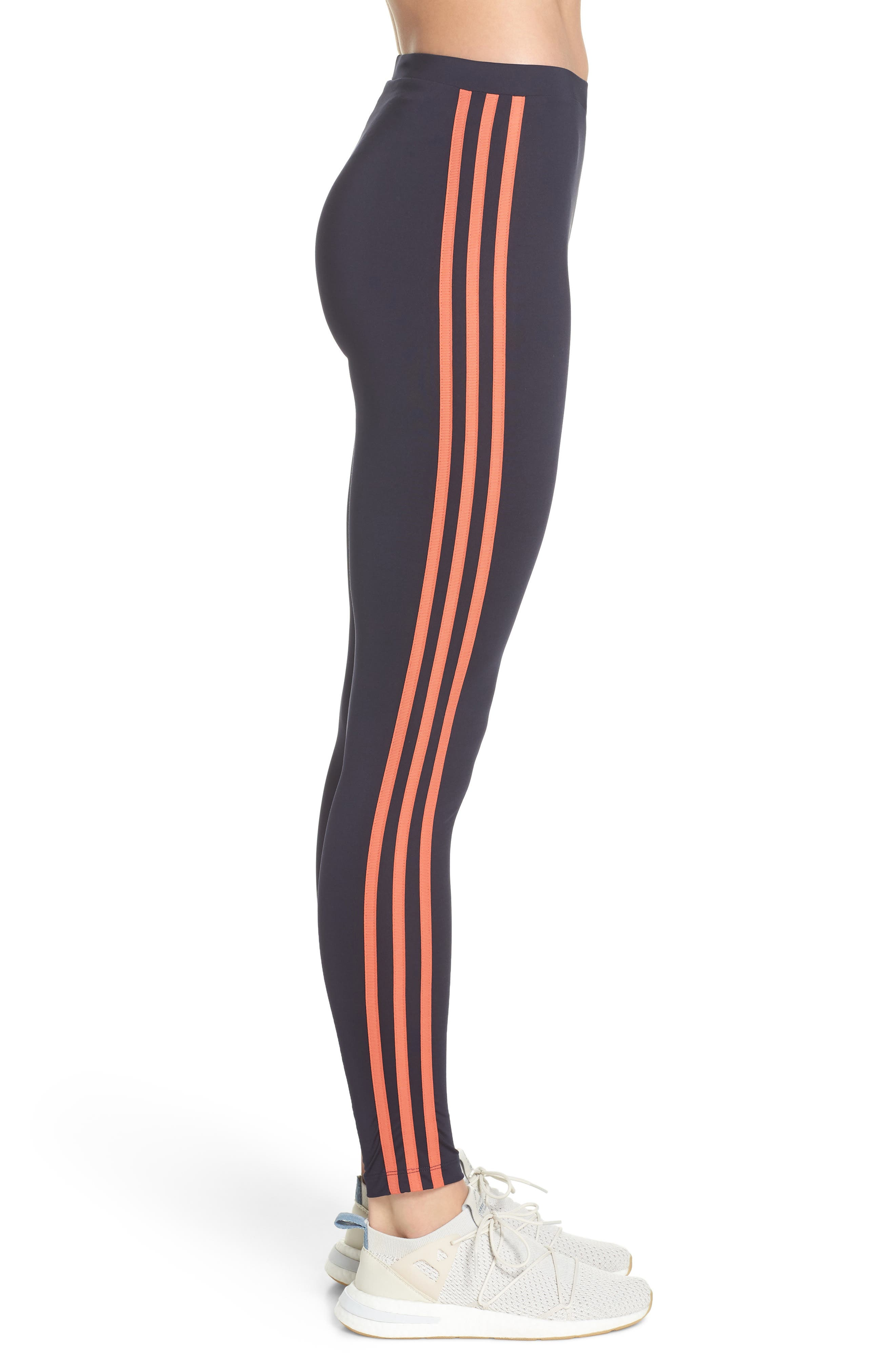 ADIDAS,                             Active Icons Tights,                             Alternate thumbnail 3, color,                             408