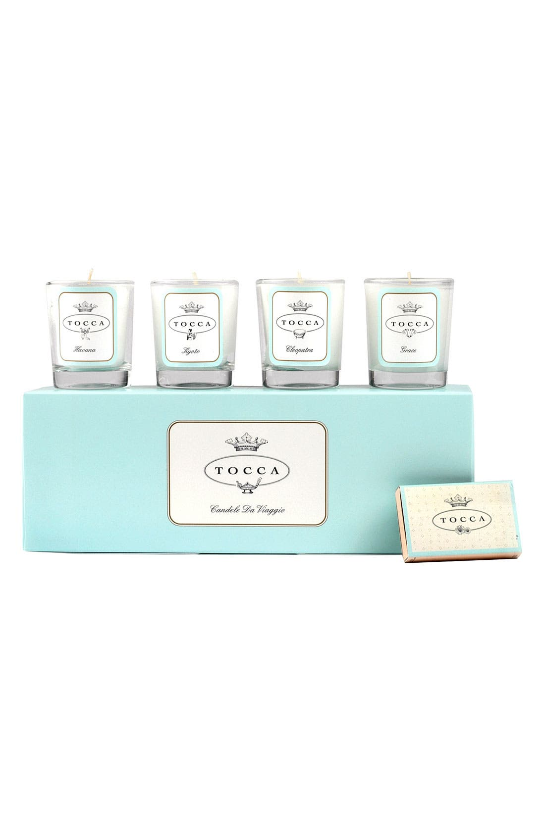'Candele da Viaggio' Travel Votive Set,                             Main thumbnail 1, color,                             000