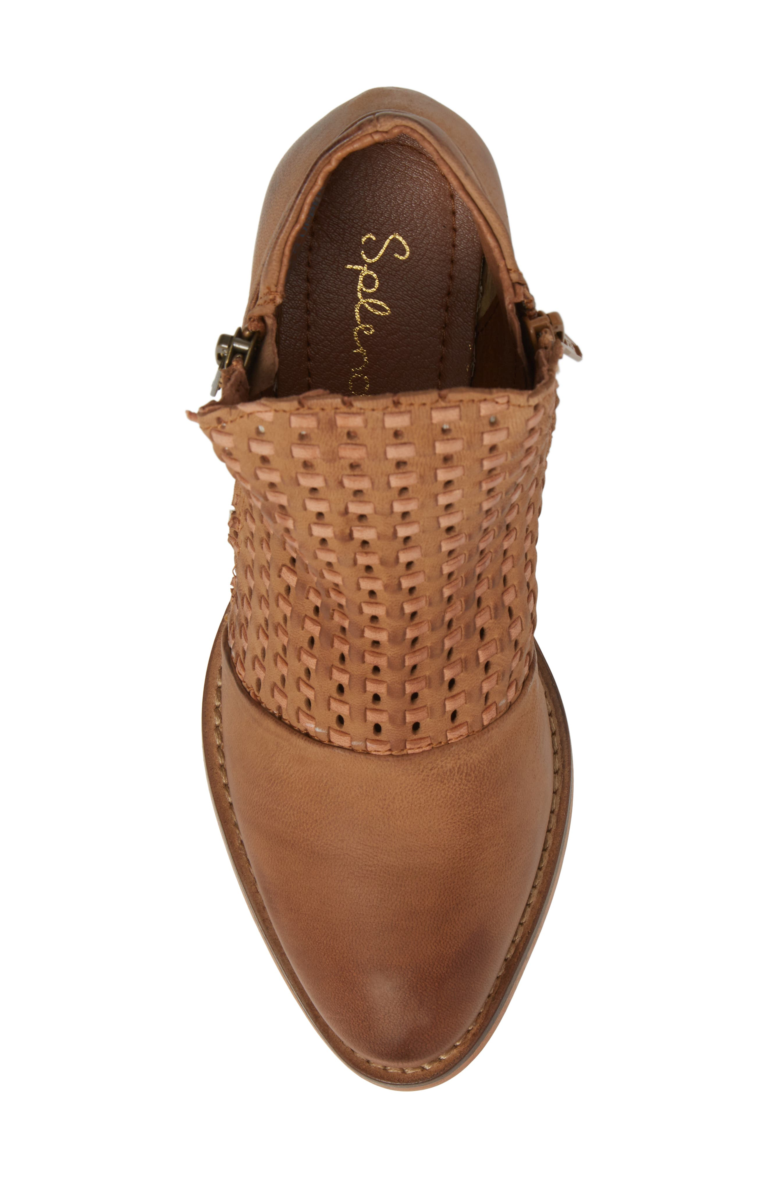 Ravi Perforated Woven Bootie,                             Alternate thumbnail 10, color,