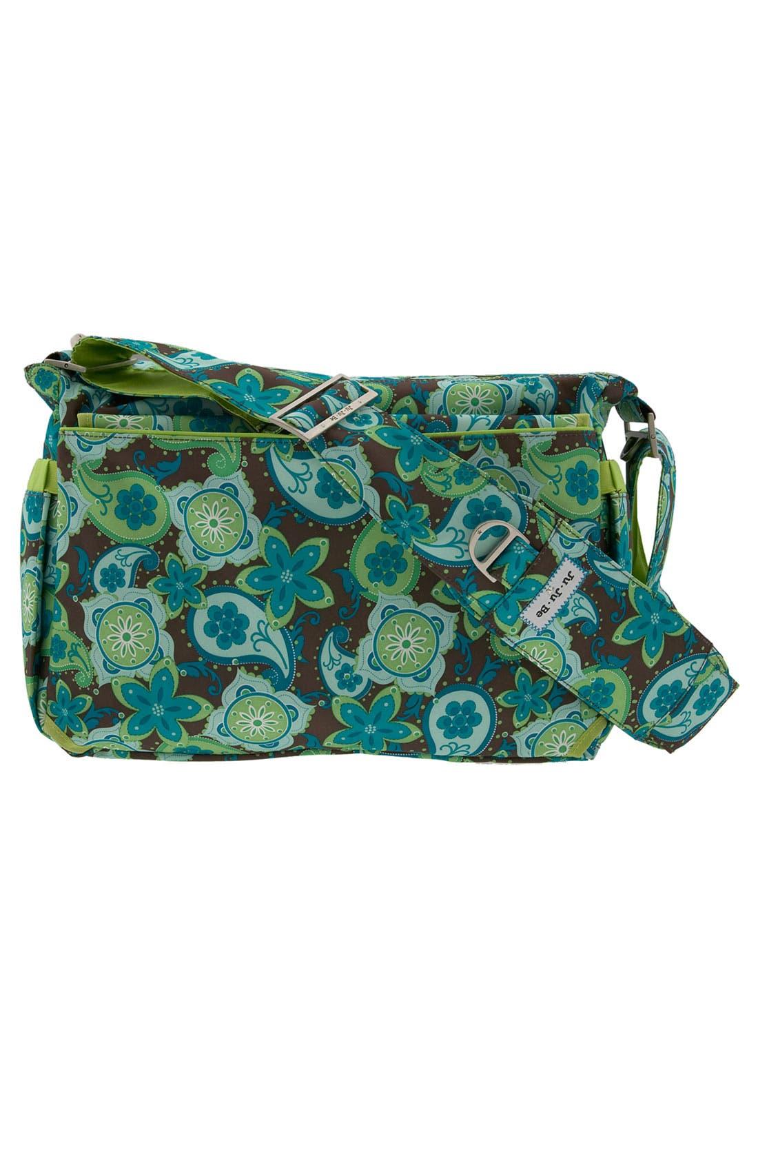 'Be All' Diaper Bag,                             Alternate thumbnail 4, color,                             DRIP DROPS