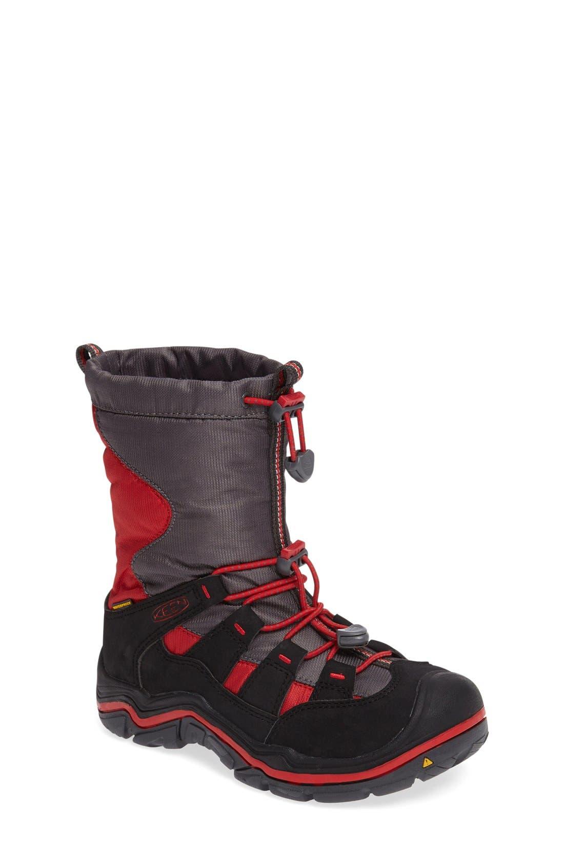 Winterport II Waterproof Boot,                             Main thumbnail 4, color,