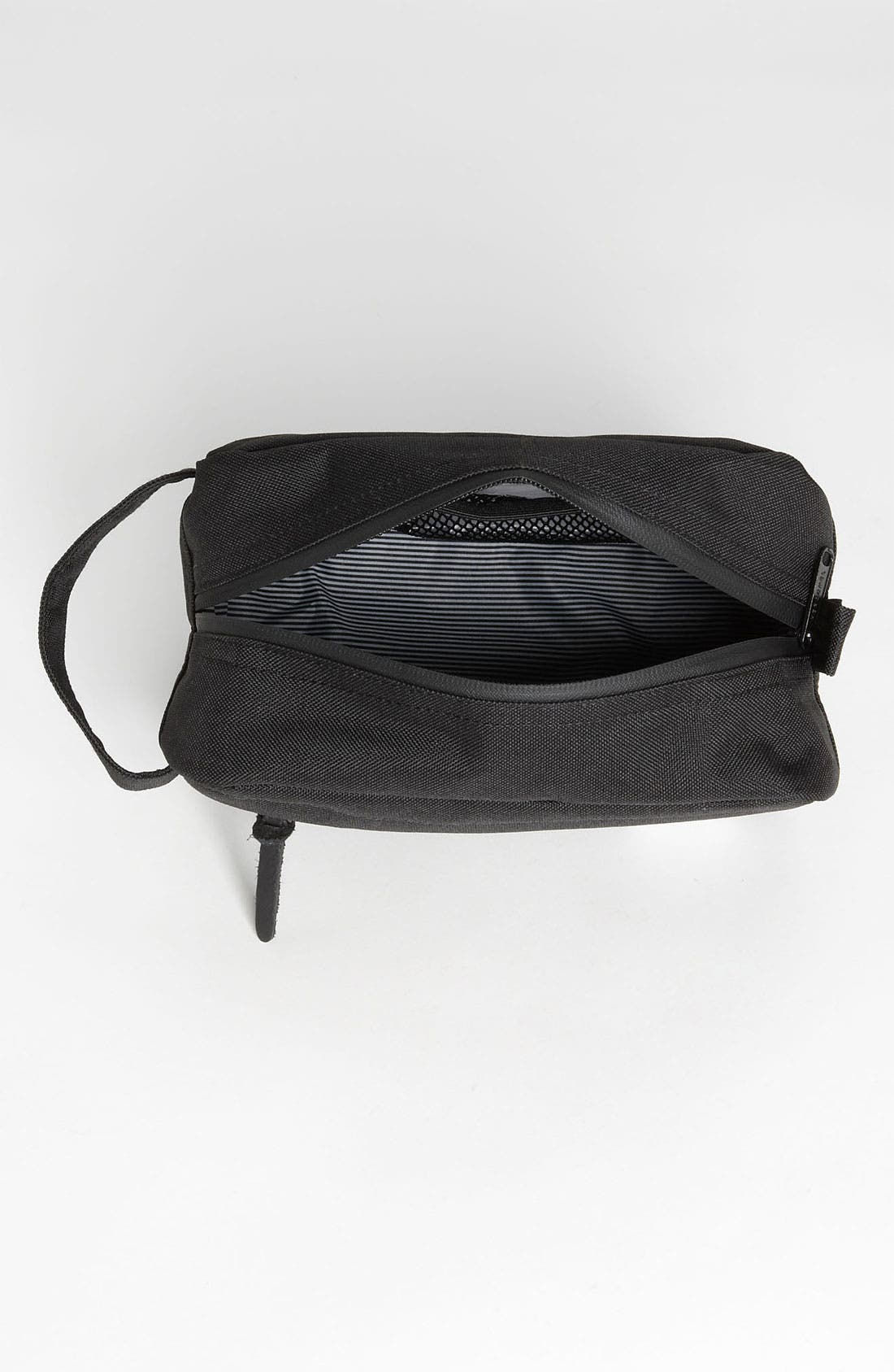 'Chapter' Toiletry Case,                             Alternate thumbnail 9, color,                             BLACK