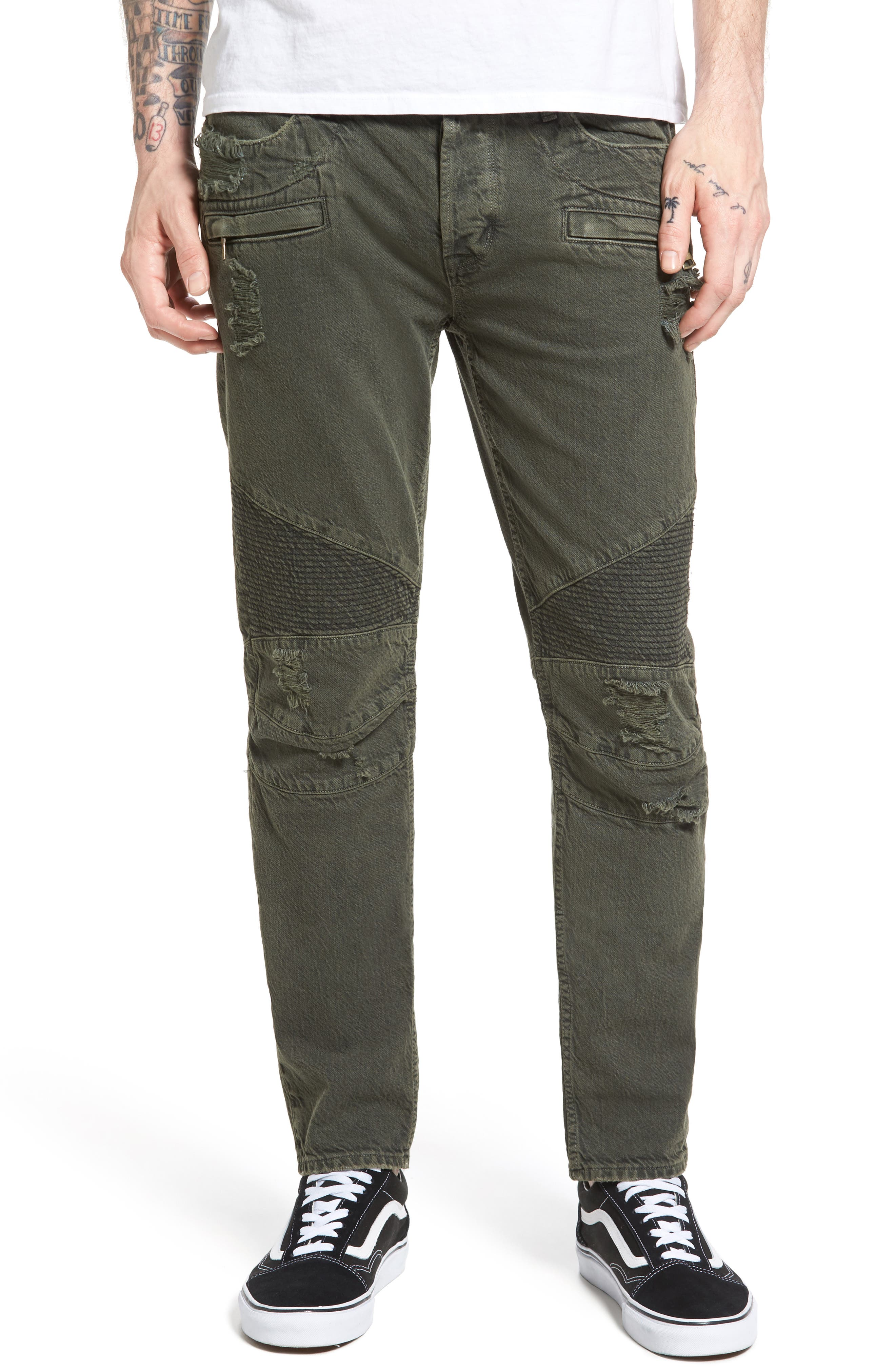 Blinder Biker Skinny Fit Jeans,                             Main thumbnail 1, color,                             300
