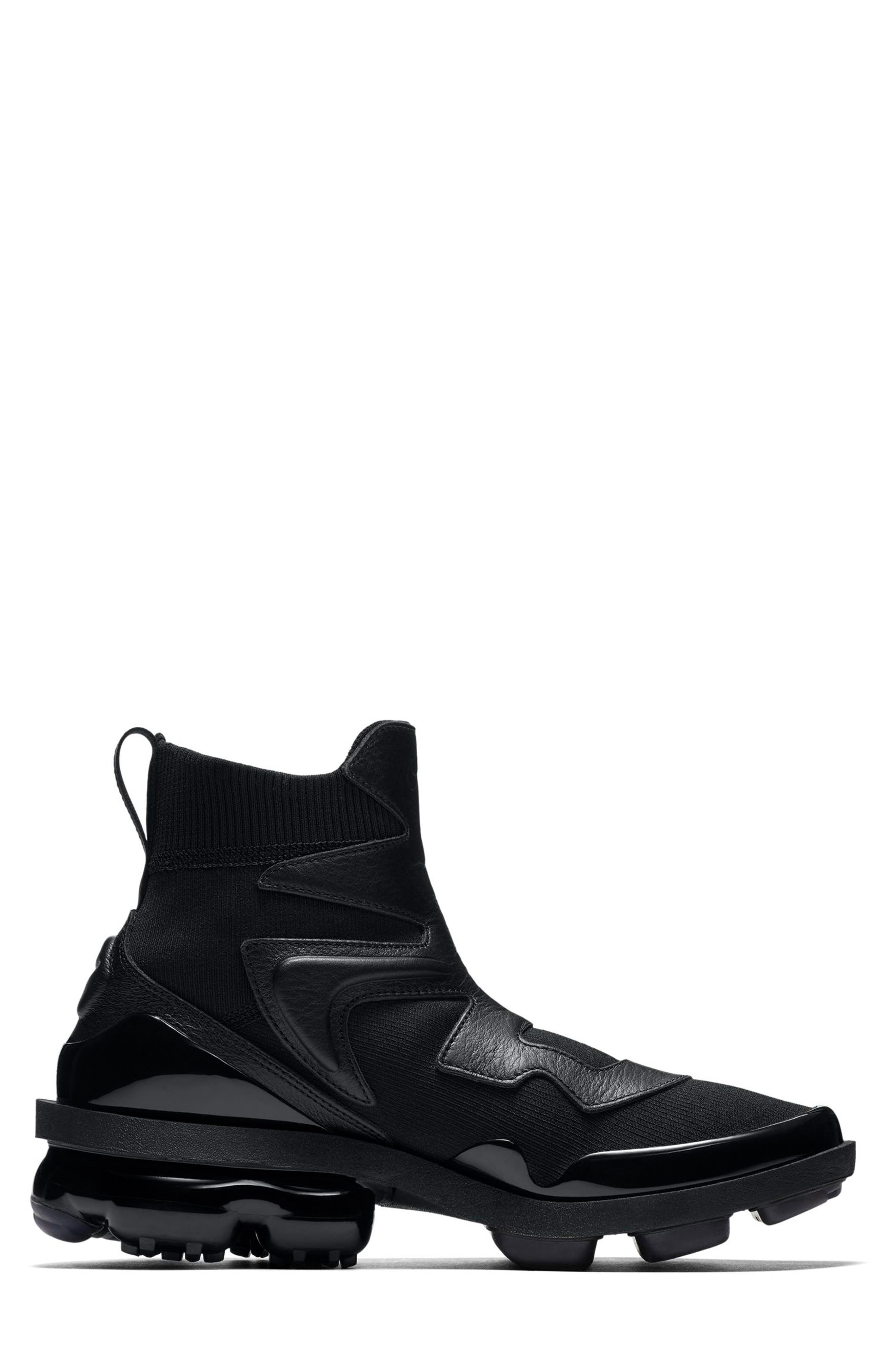 Air Vapormax Light II Sneaker,                             Alternate thumbnail 3, color,                             BLACK/ BLACK