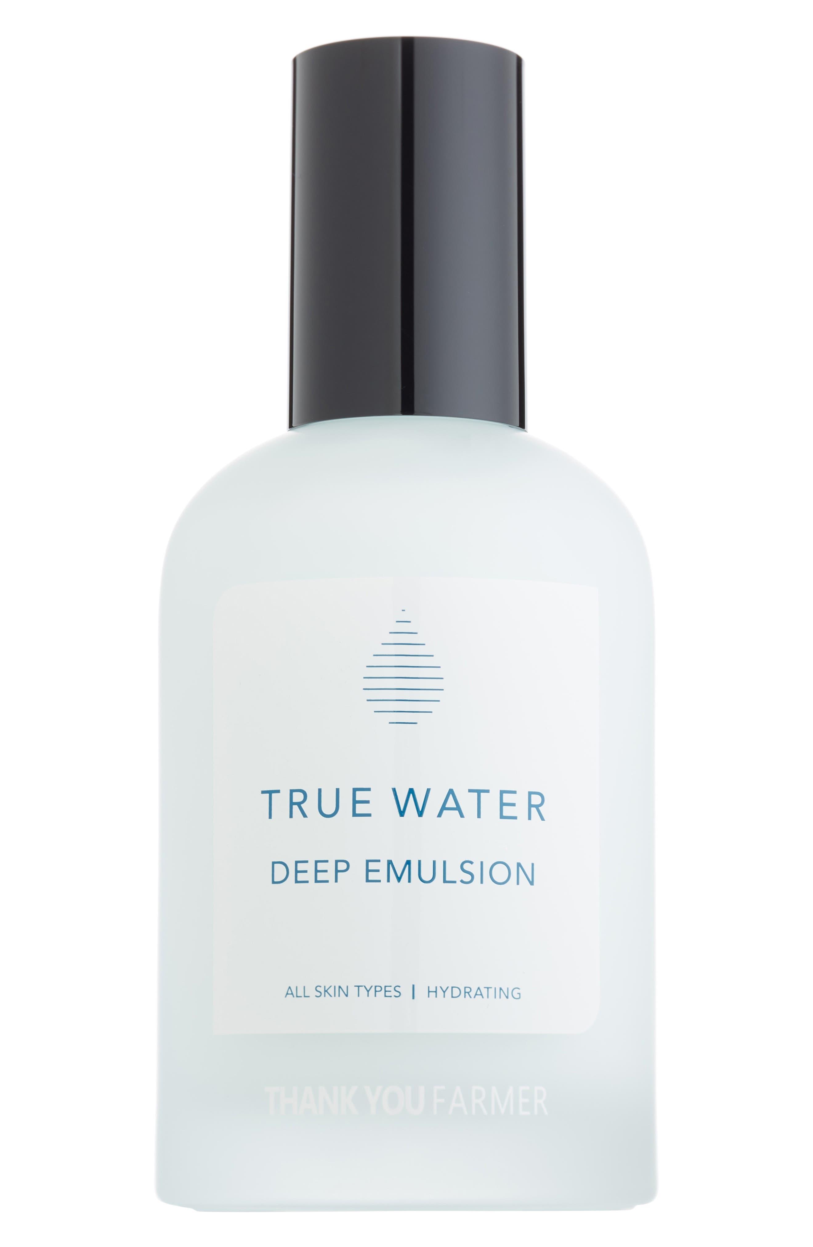 True Water Deep Emulsion Cream,                             Main thumbnail 1, color,                             000