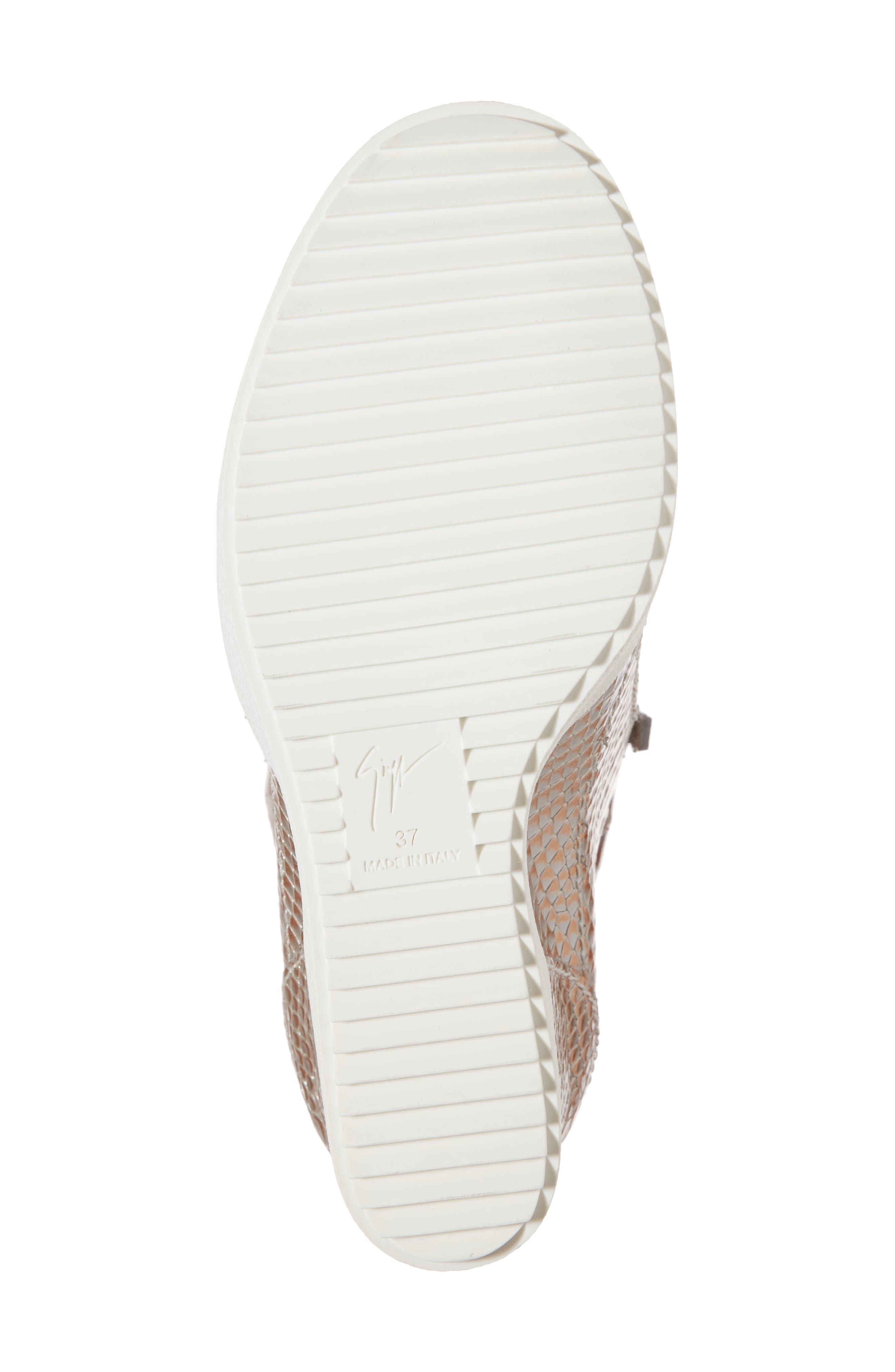 Lamay Lorenz High Top Wedge Sneaker,                             Alternate thumbnail 6, color,                             710